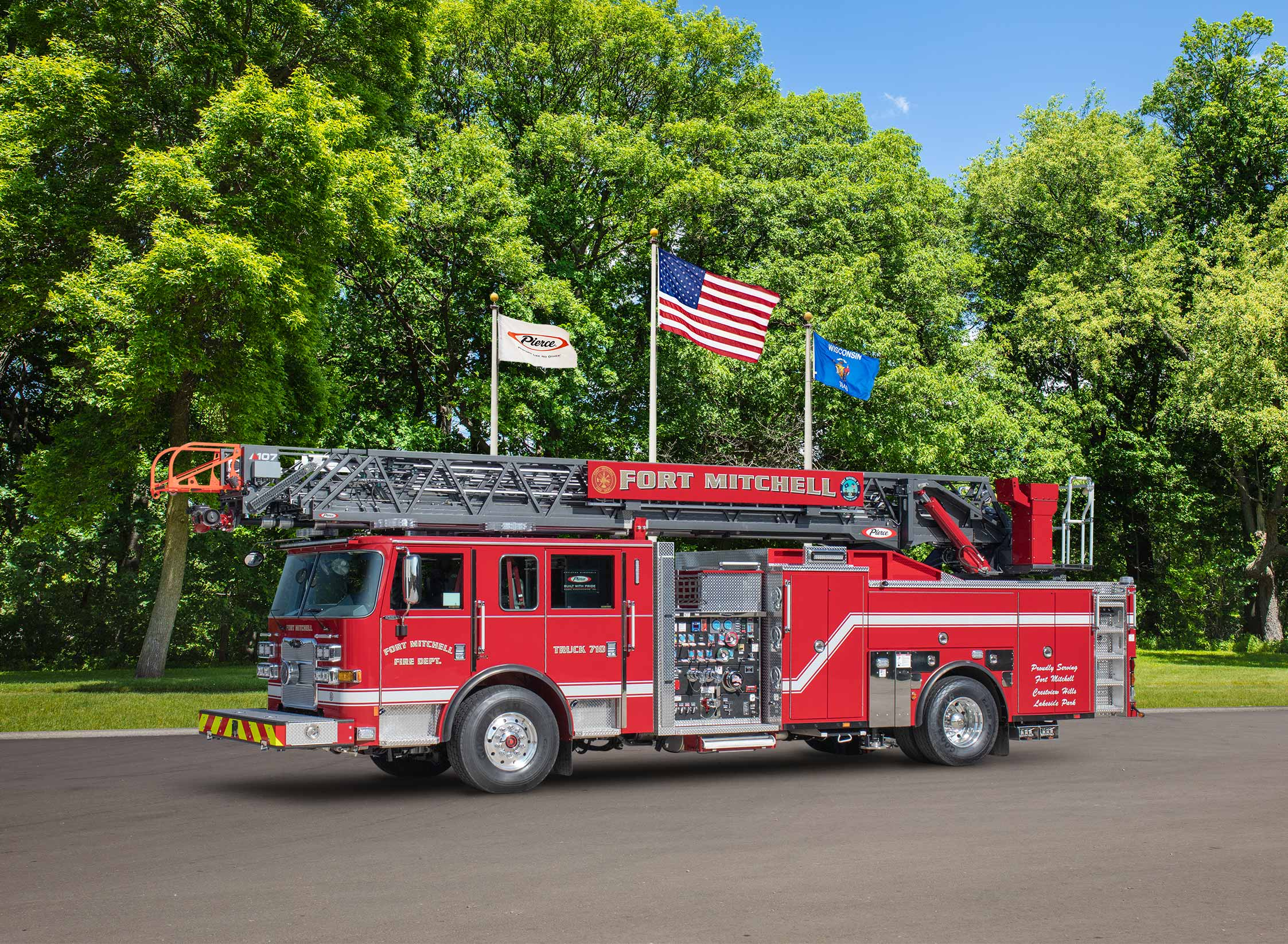 Fort Mitchell Fire Department - Aerial