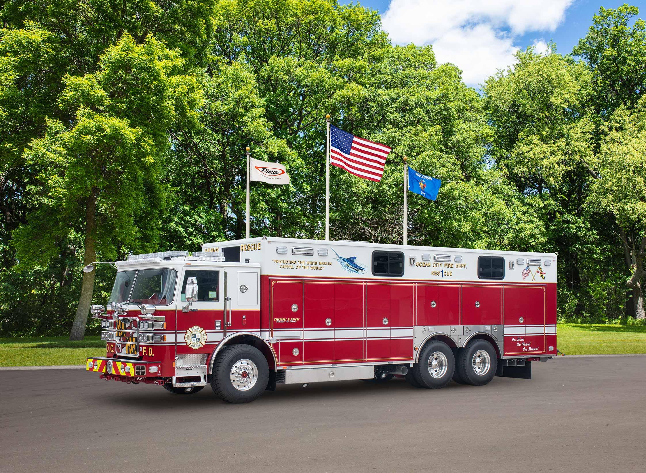 Ocean City Volunteer Fire Company - Rescue