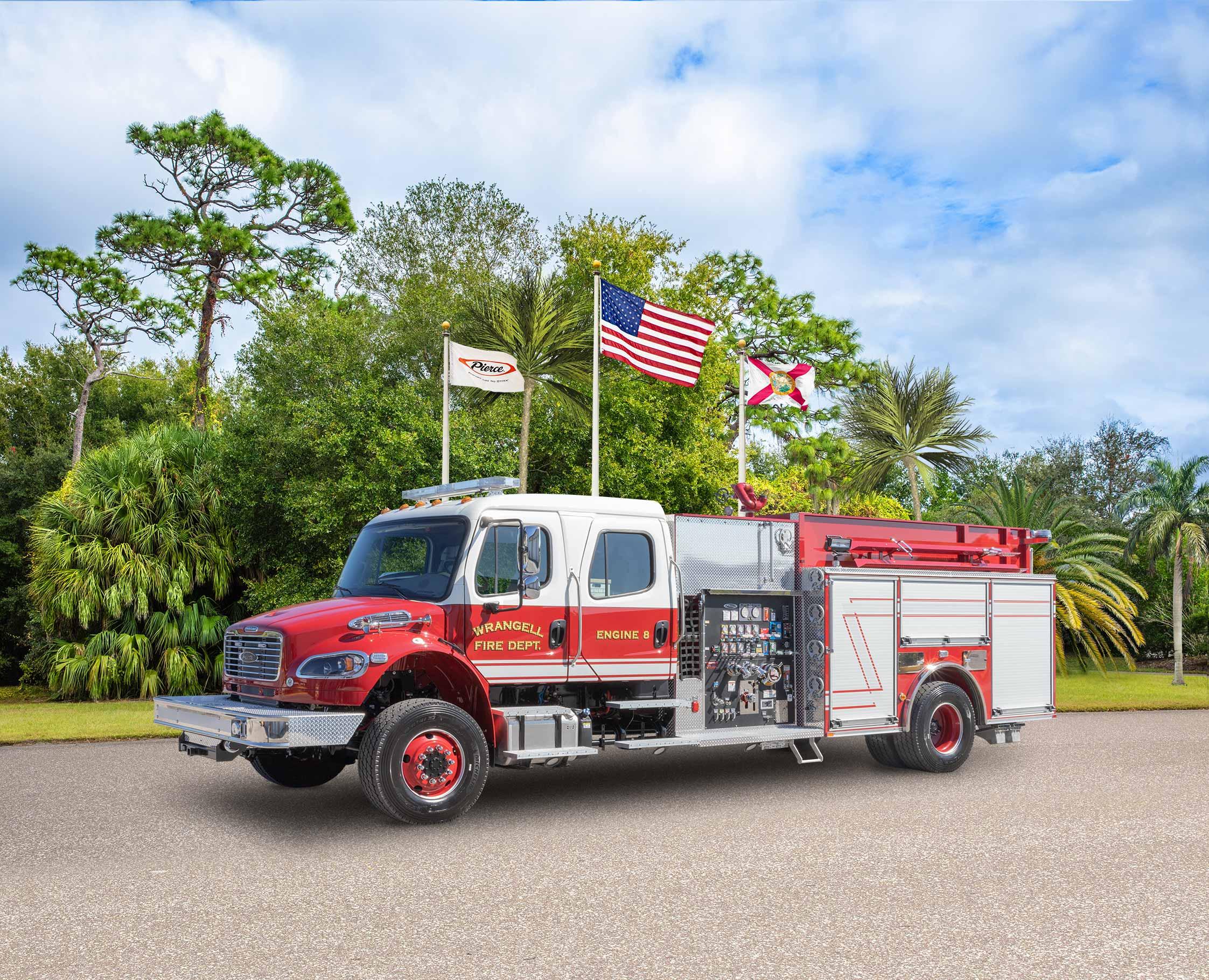 Wrangell Volunteer Fire Department - Pumper