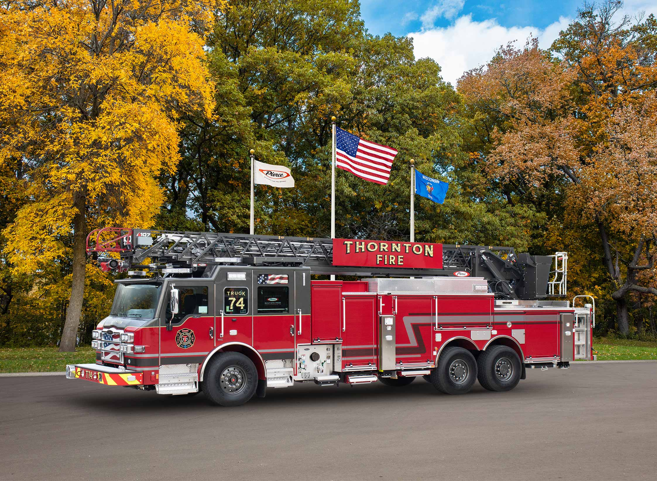City of Thornton Fire Department - Aerial
