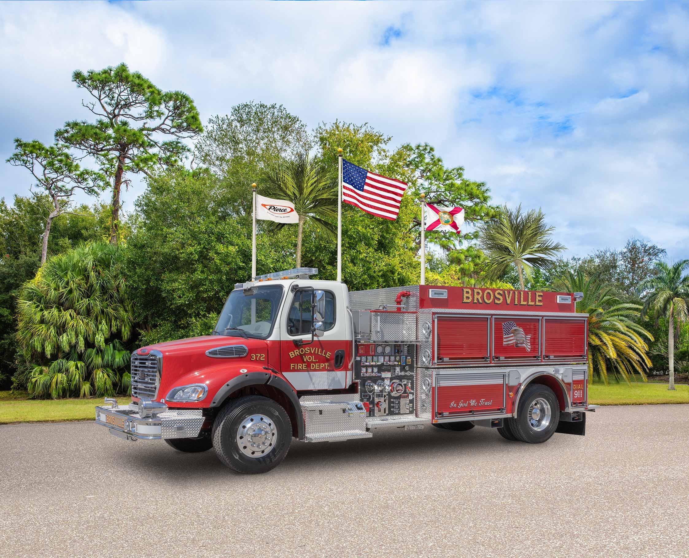 Brosville Volunteer Fire Department - Tanker