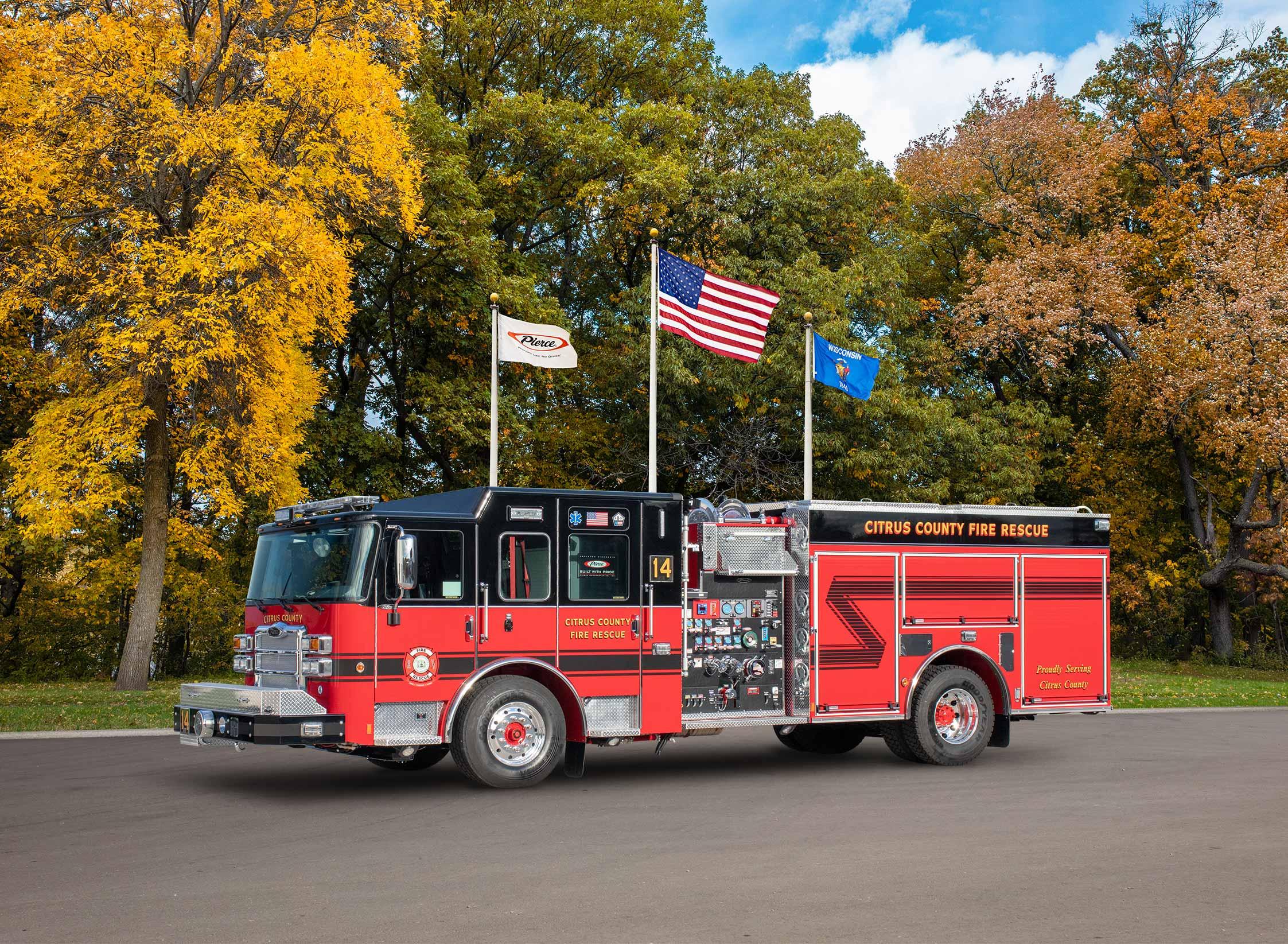 Citrus County Fire Rescue - Pumper