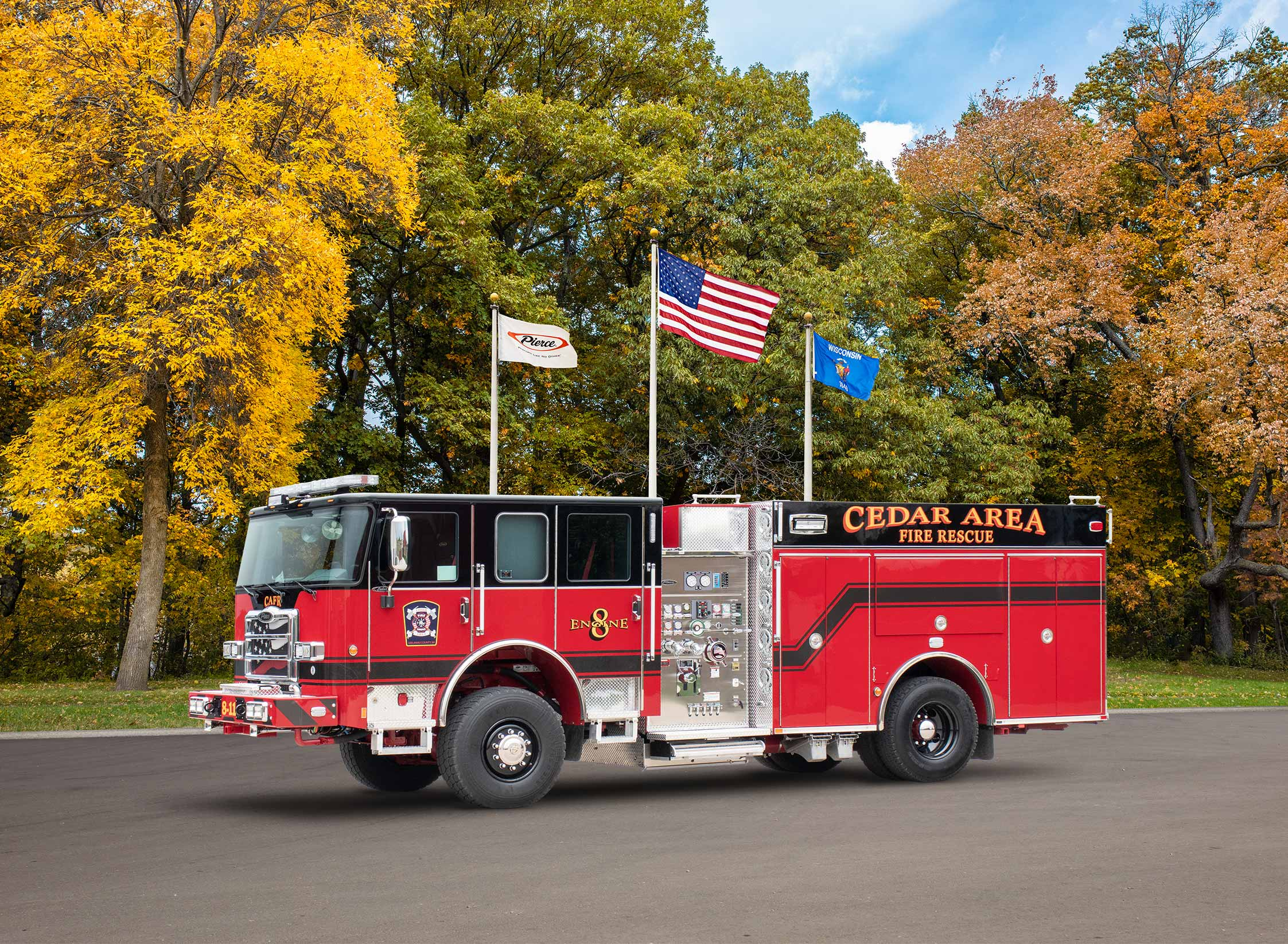 Cedar Area Fire Rescue - Pumper