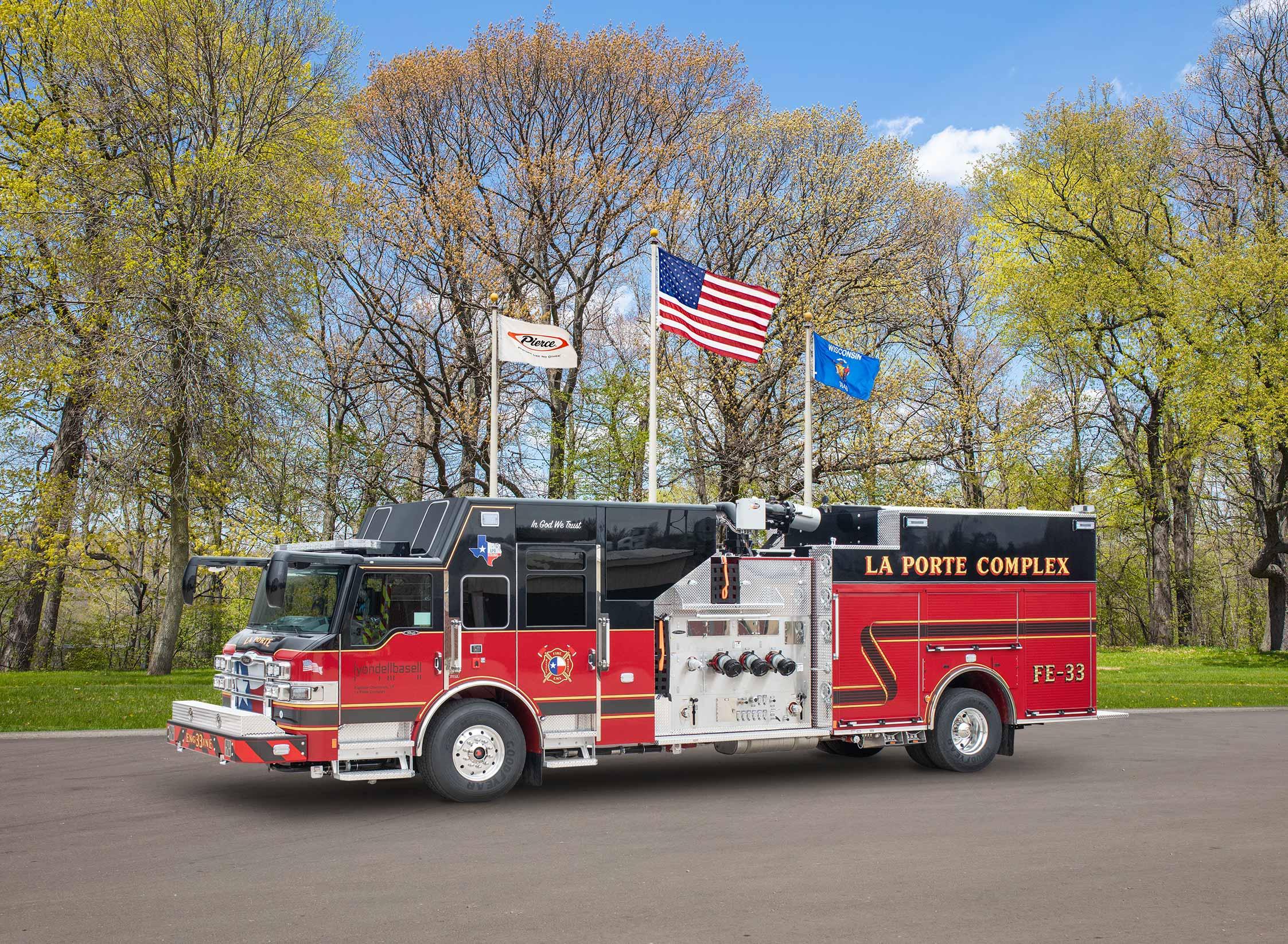 La Porte Fire Department - Pumper