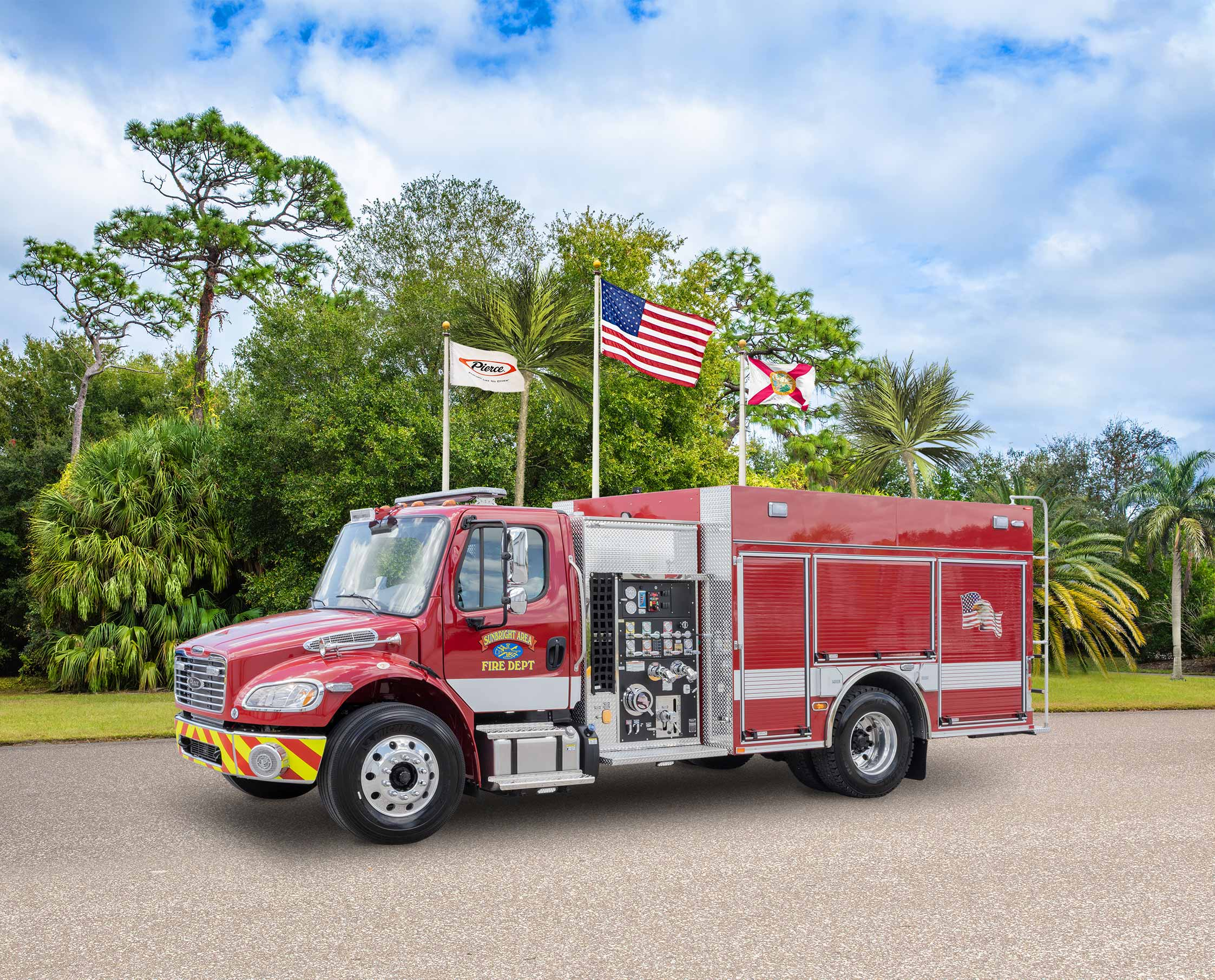 Sunbright Volunteer Fire Department - Pumper