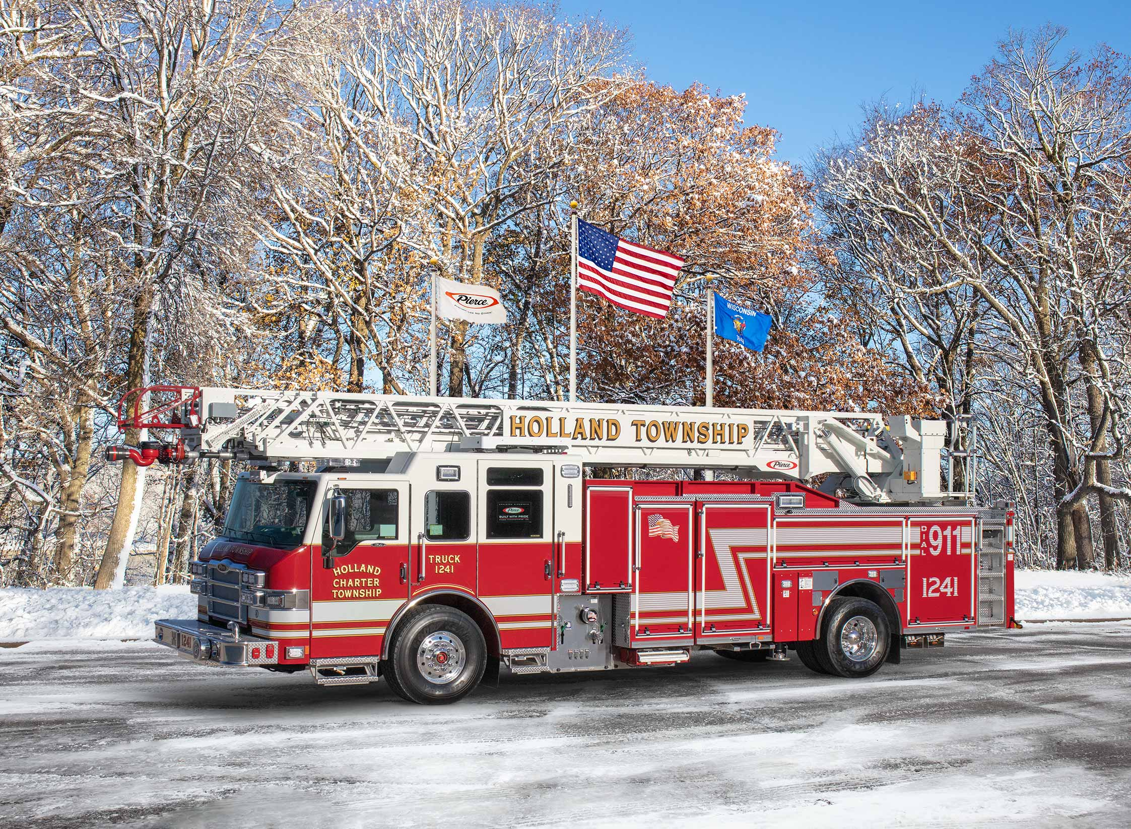 Holland Township Fire Department - Aerial