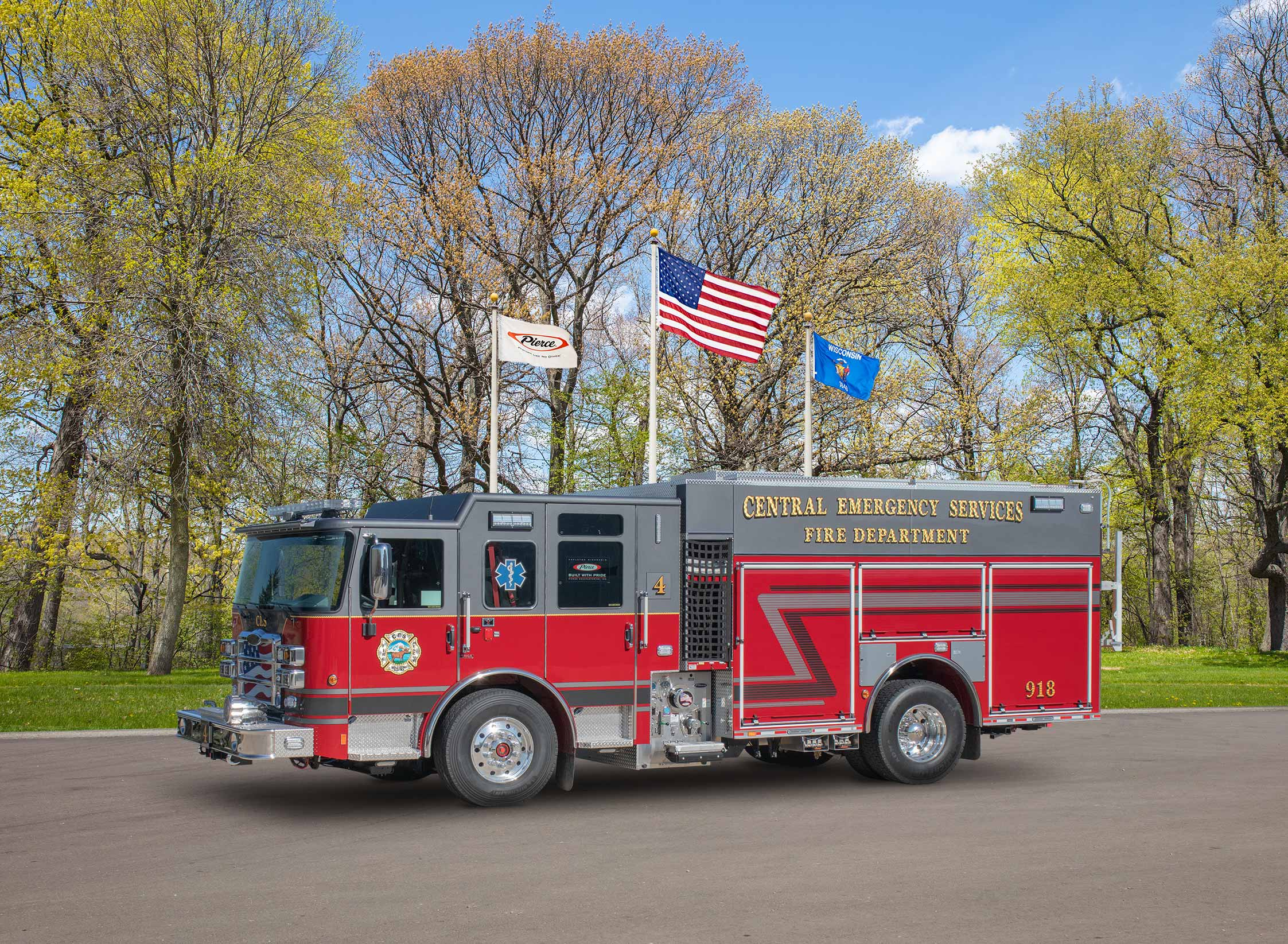 Central Emergency Services Fire Department - Pumper