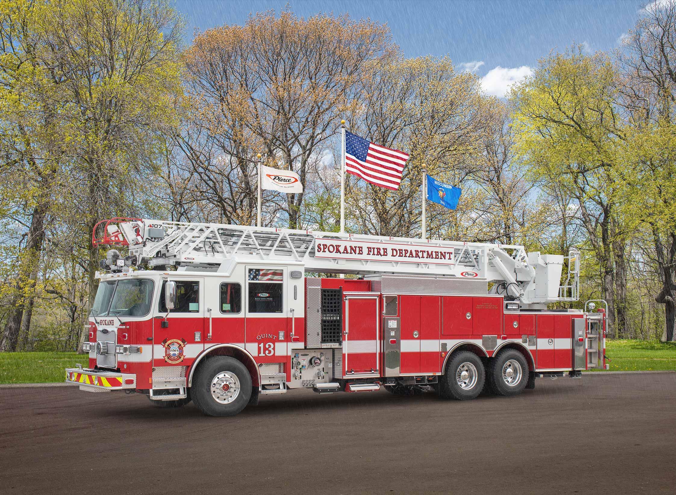 Spokane Fire Department - Aerial