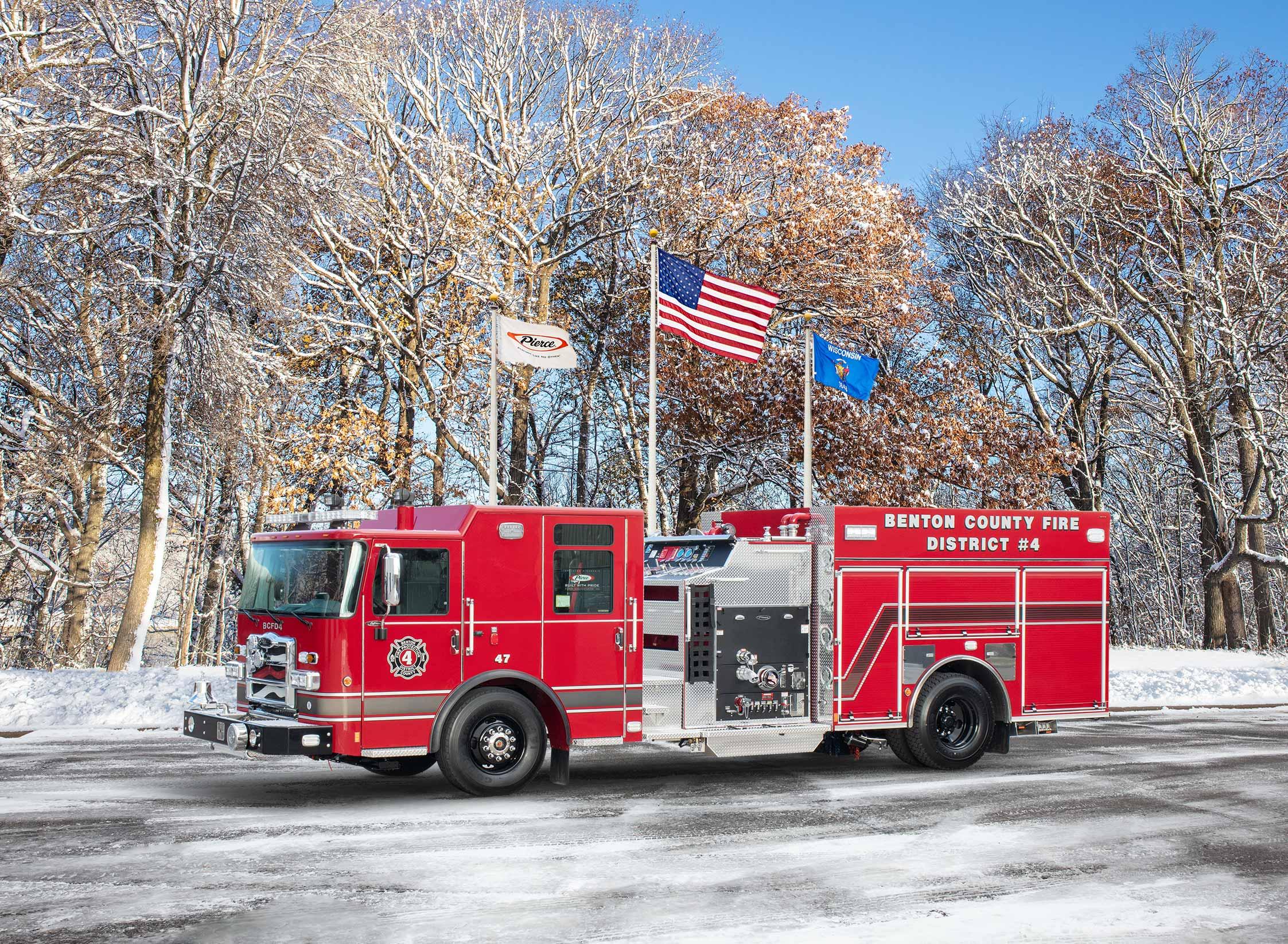 Benton County Fire Protection District No.4 - Pumper