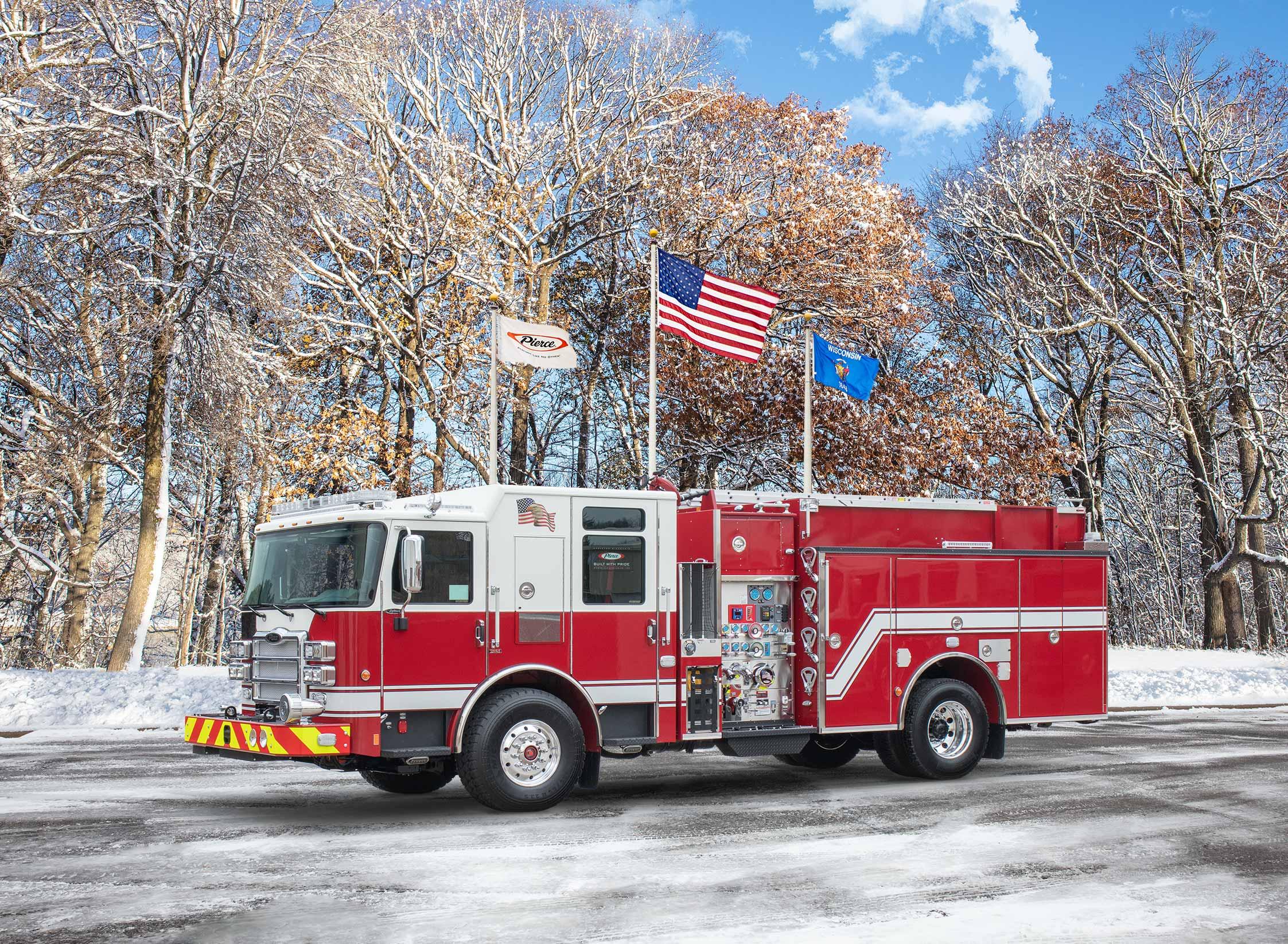 Clark Fire & Rescue - Pumper