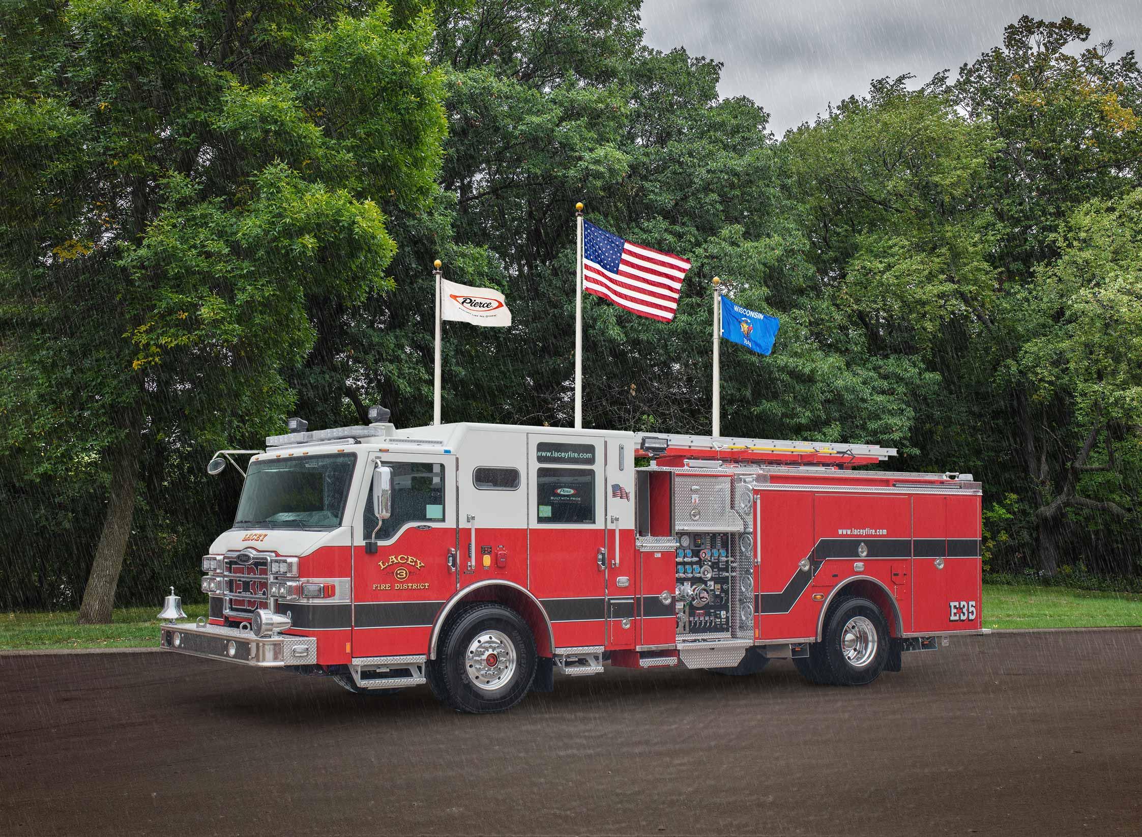 Thurston Company Fire Department No.3 - Pumper