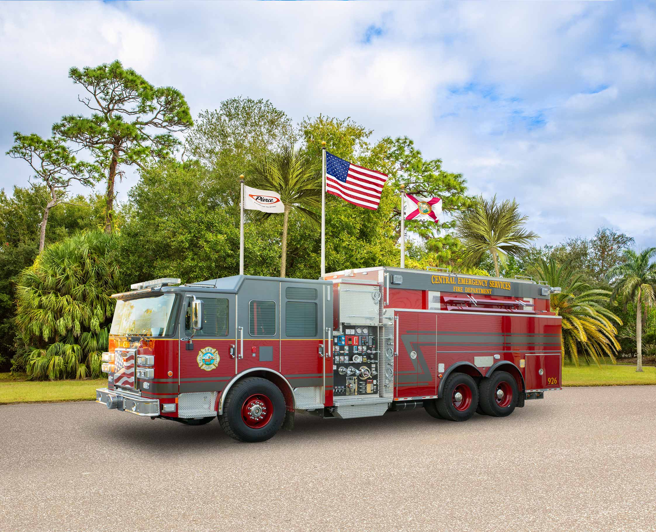 Central Emergency Services Fire Department - Tanker