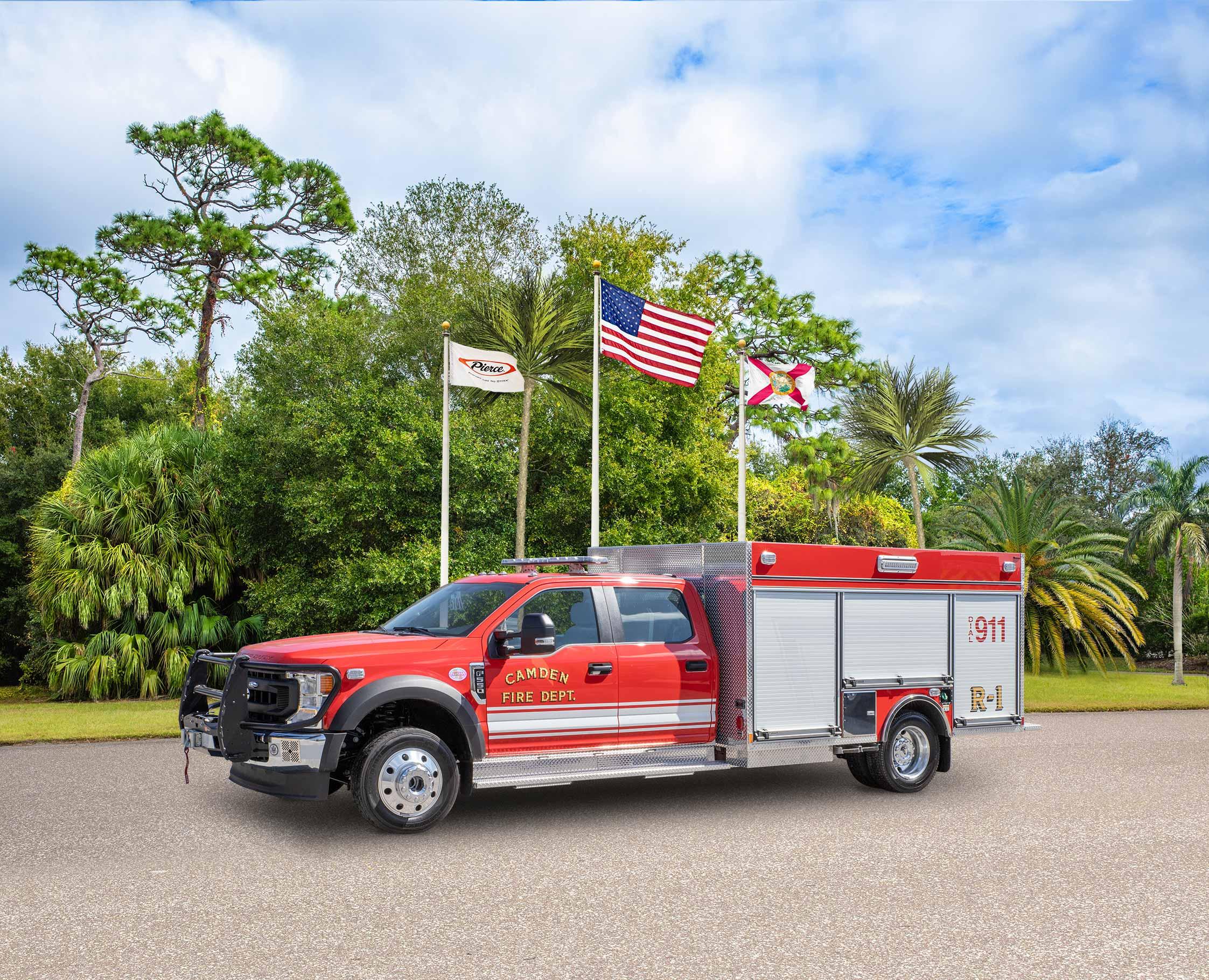 Camden Fire Department - Pumper