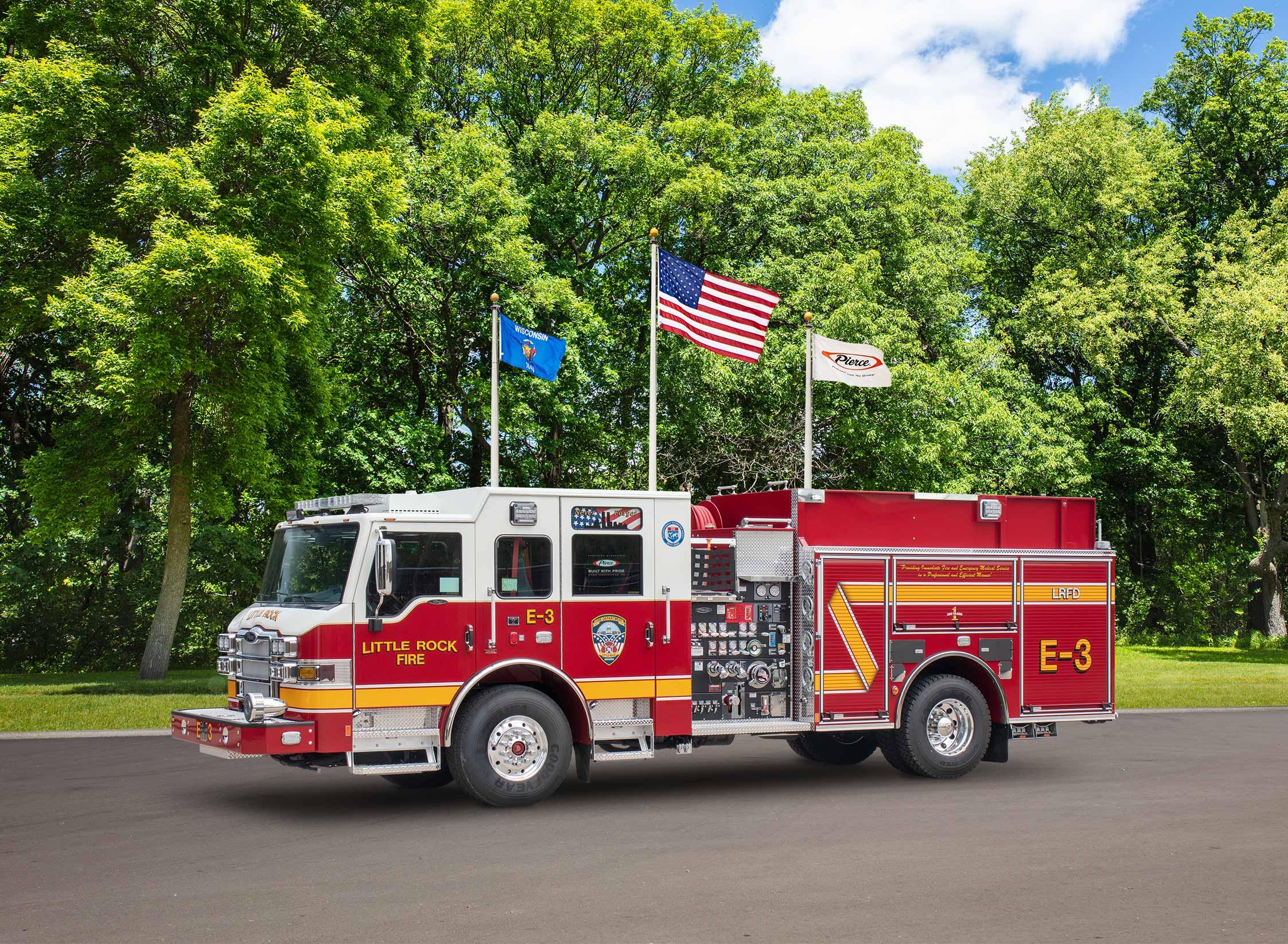 Little Rock Fire Department - Pumper