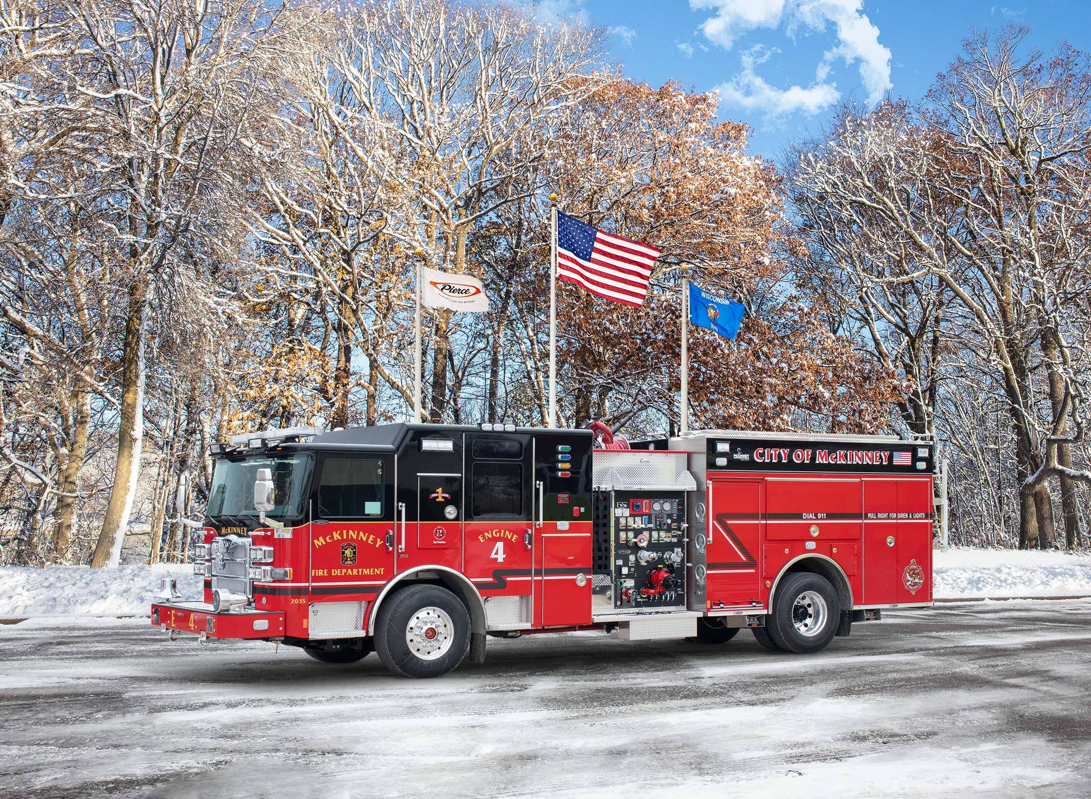 McKinney Fire Department - Pumper
