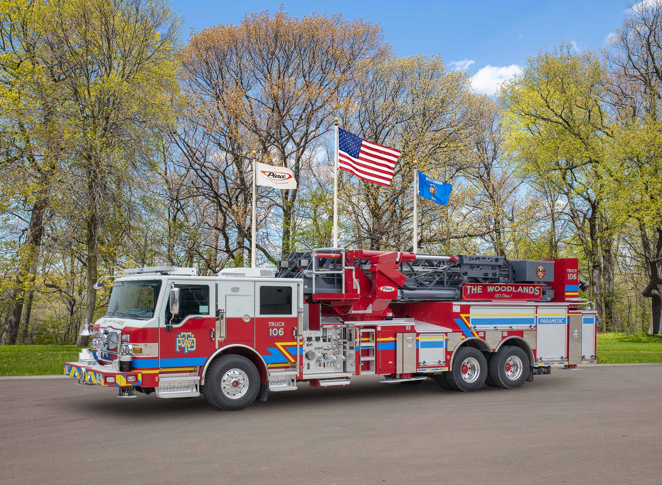 The Woodlands Township Fire Department - Aerial