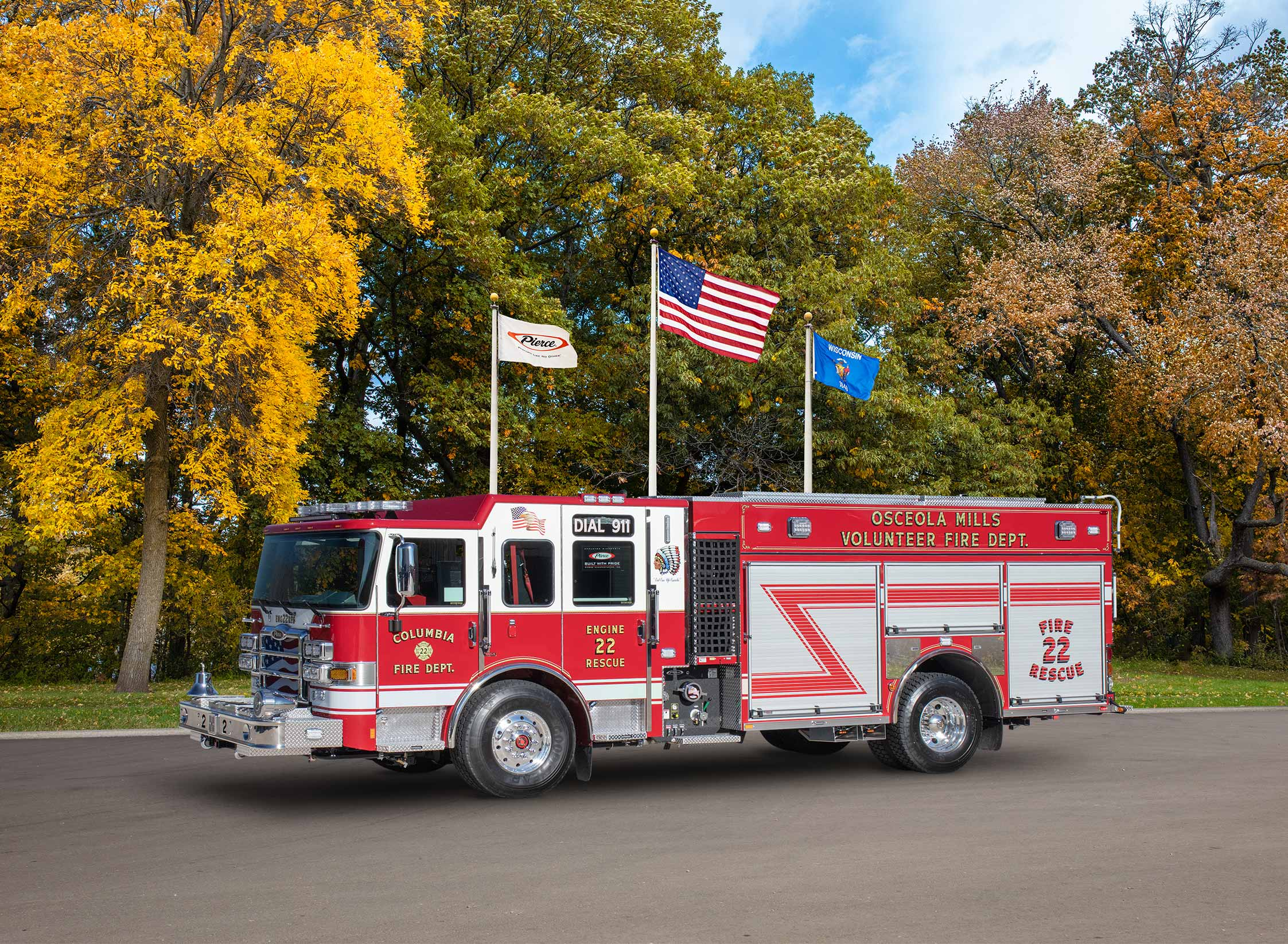 Columbia Fire Company - Pumper