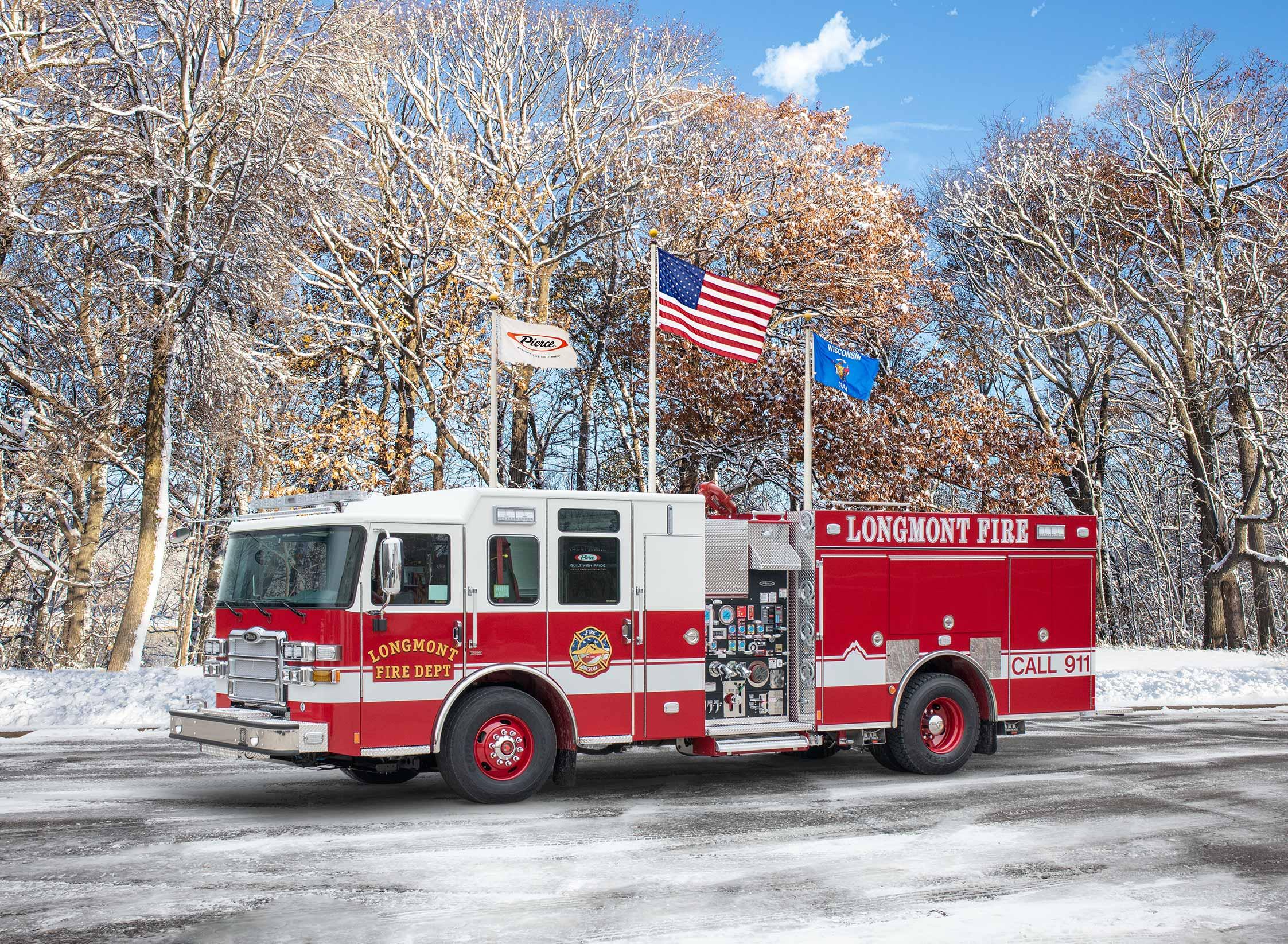 Longmont Fire Department - Pumper