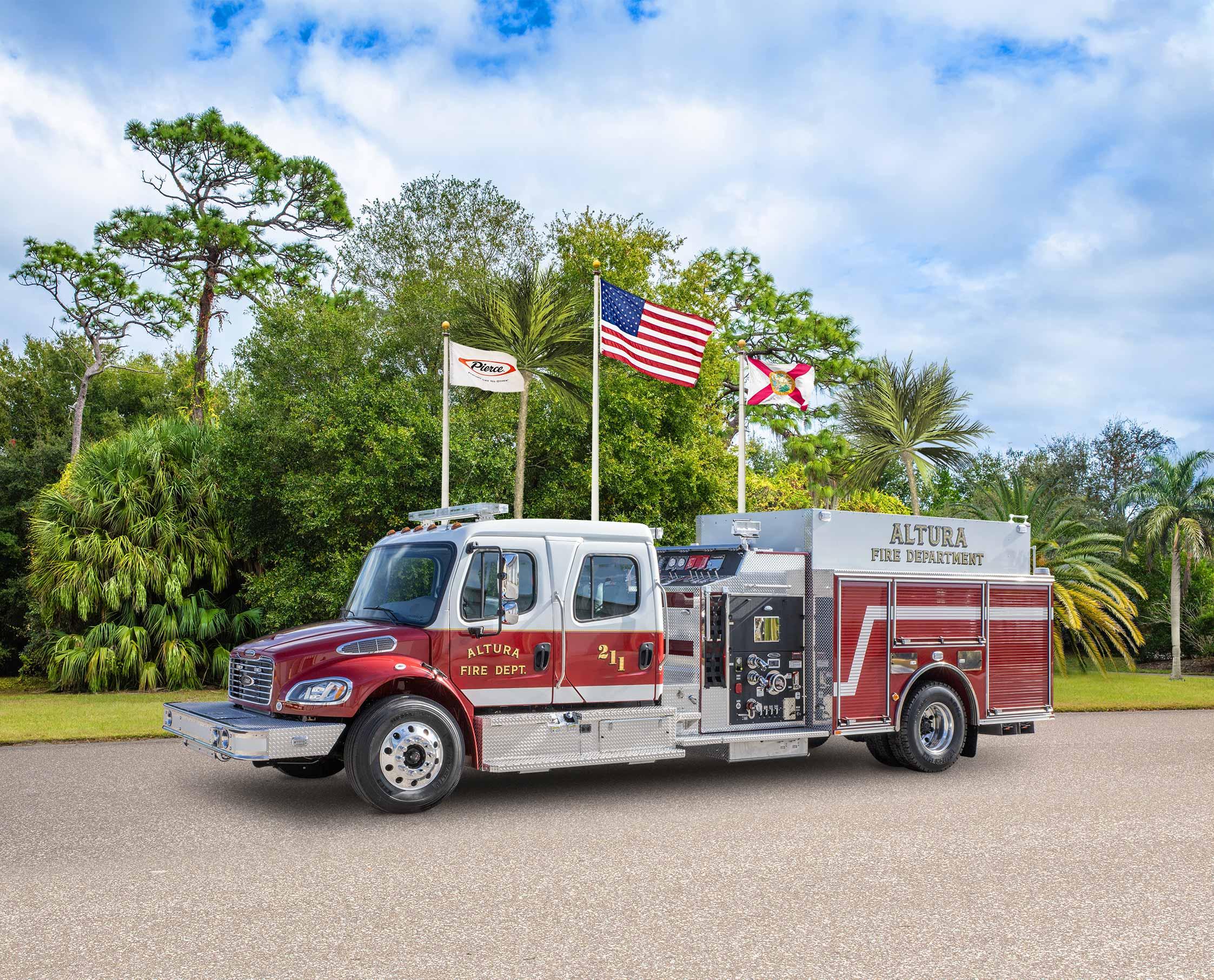 Altura Fire Department - Pumper