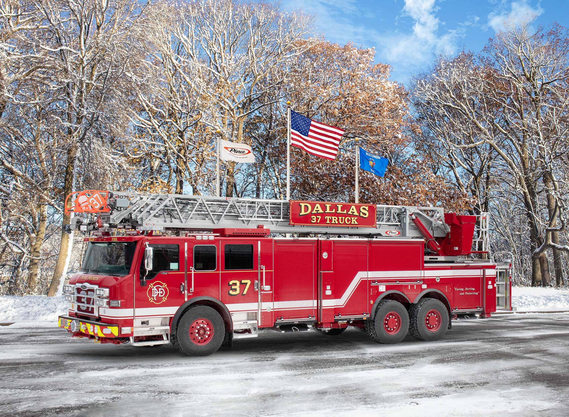Dallas Fire Department - Aerial