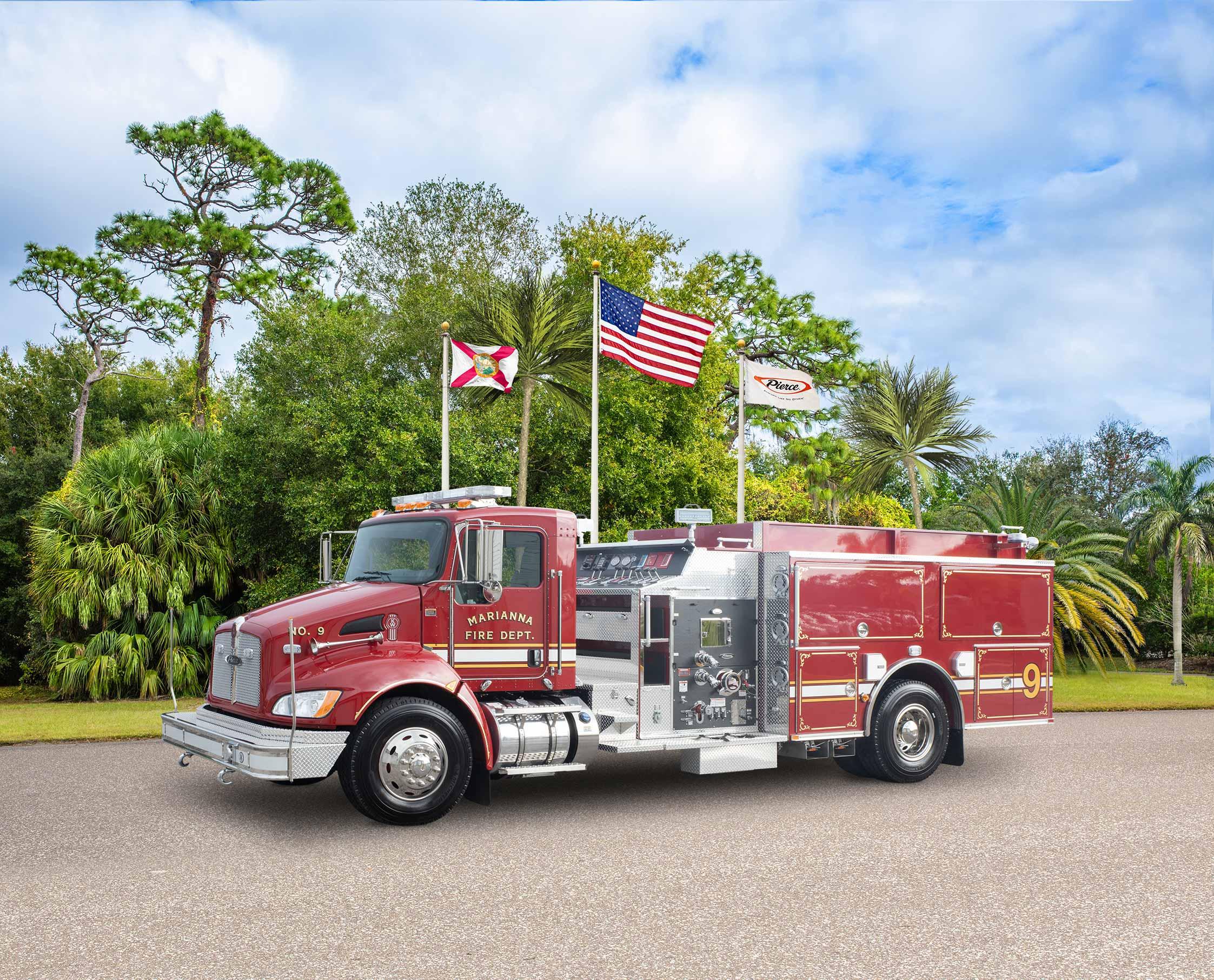 Marianna Fire Department - Pumper