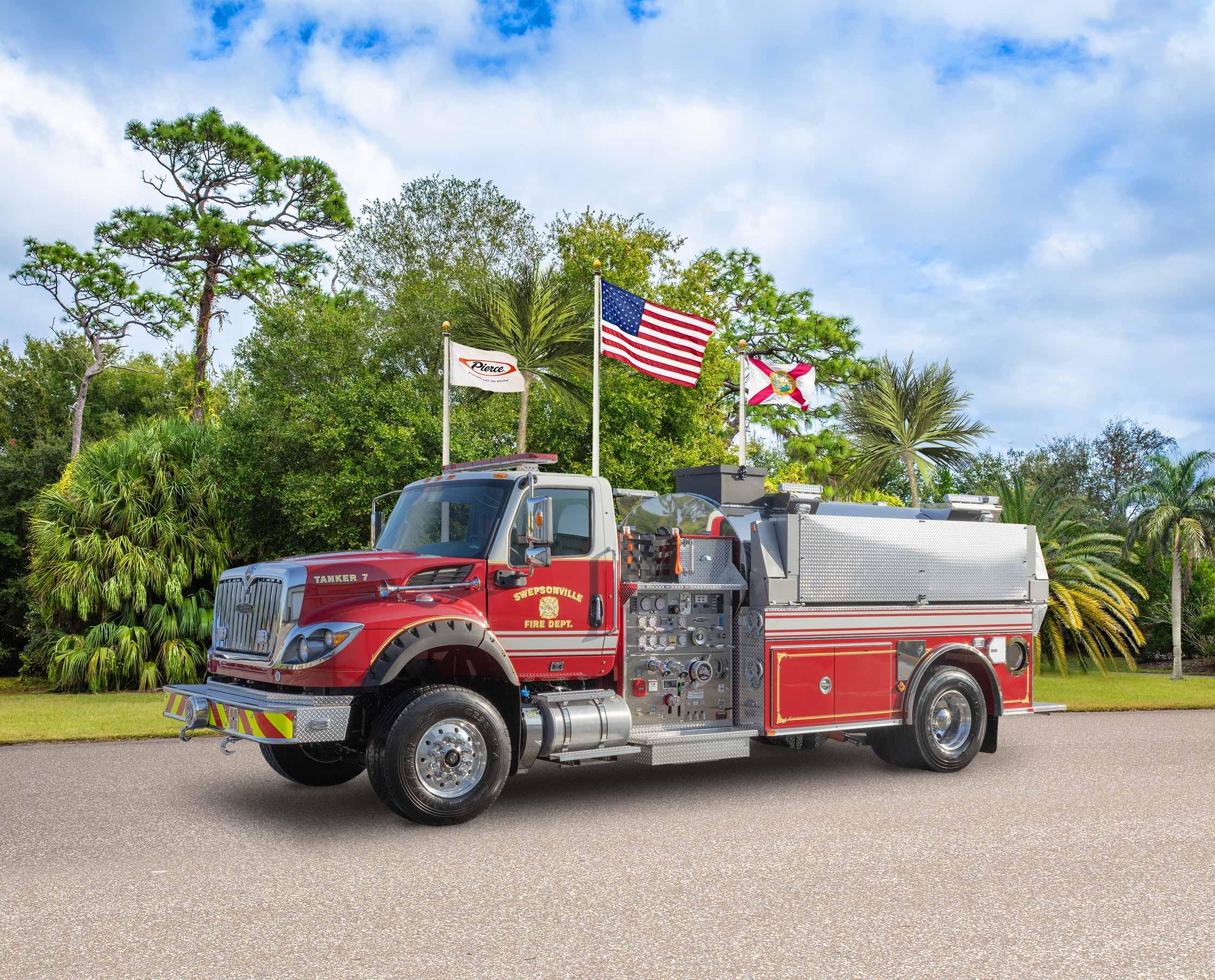 Swepsonville Volunteer Fire Department - Tanker