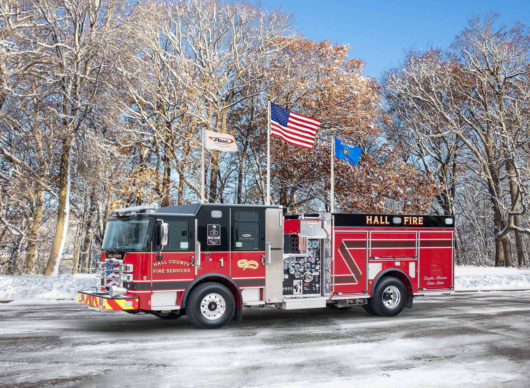 Hall County Fire Services - Pumper