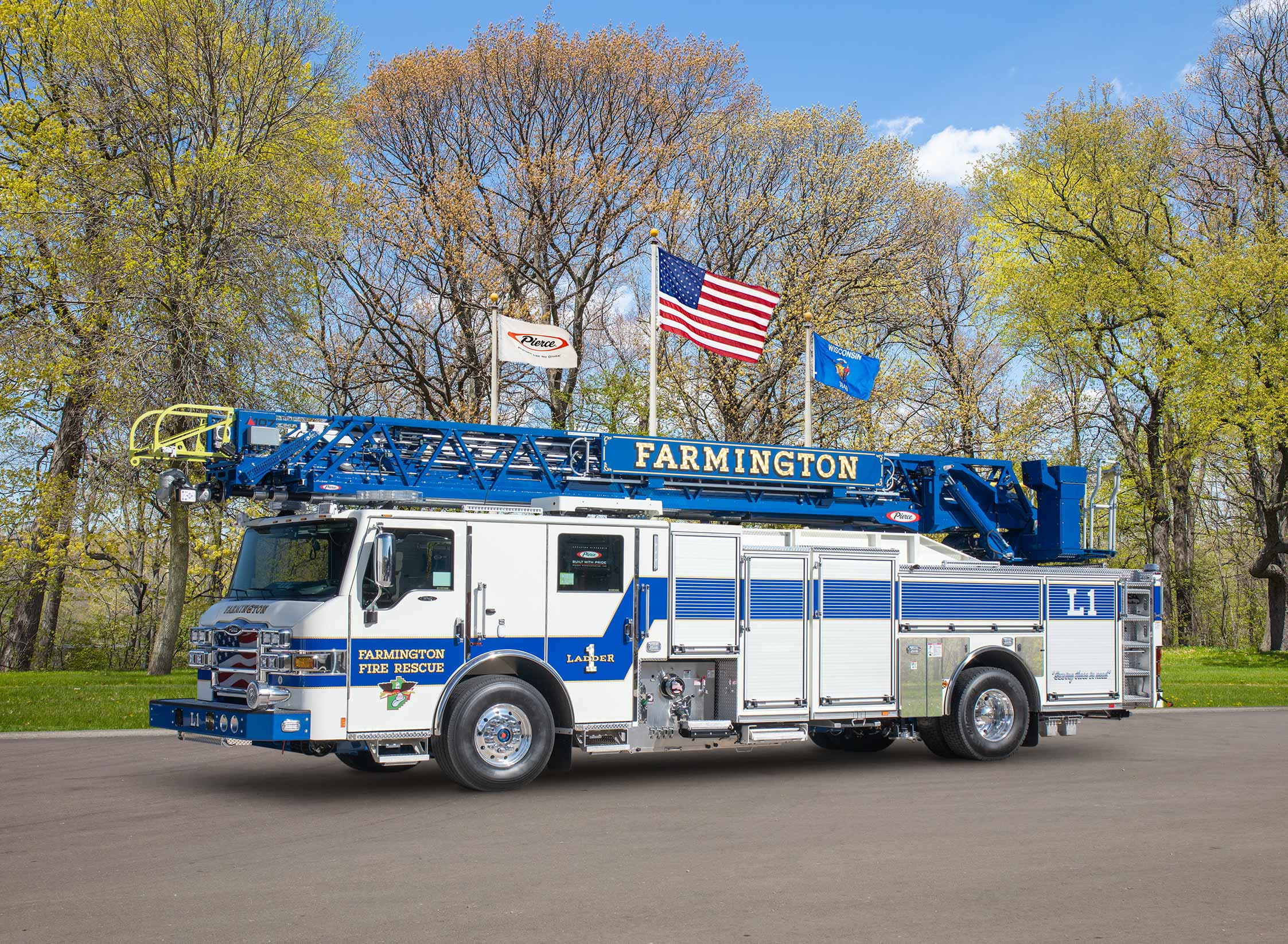 Farmington Fire & Rescue - Aerial