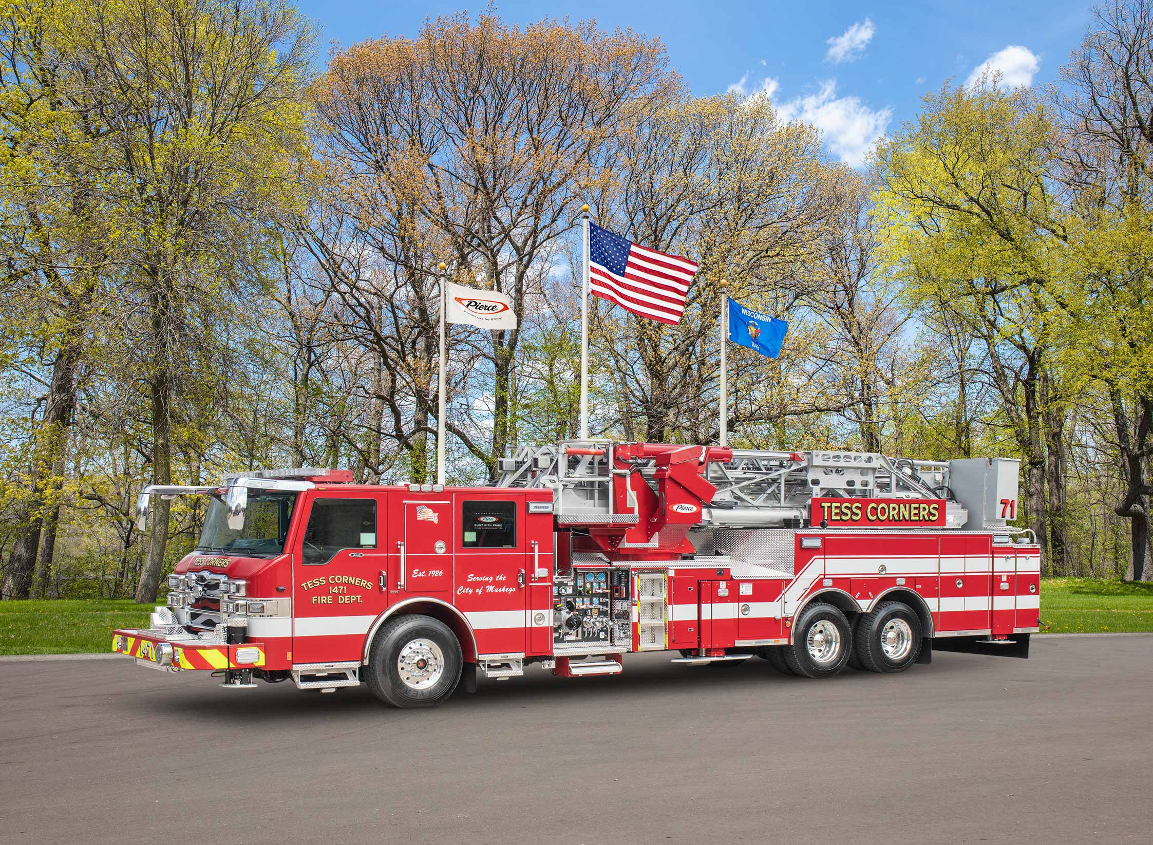 Tess Corners Volunteer Fire Department - Aerial