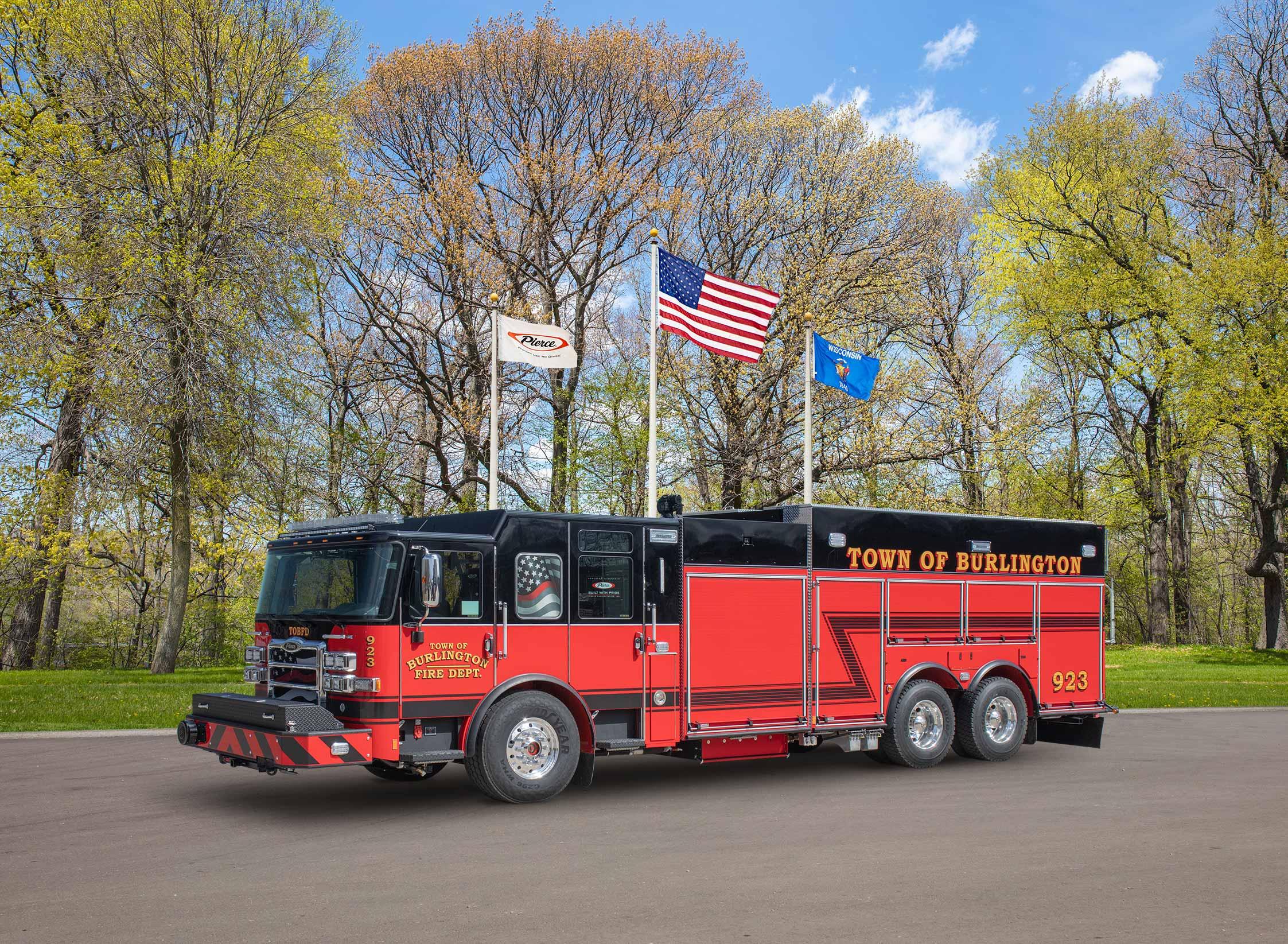 Town of Burlington Fire Department - Tanker