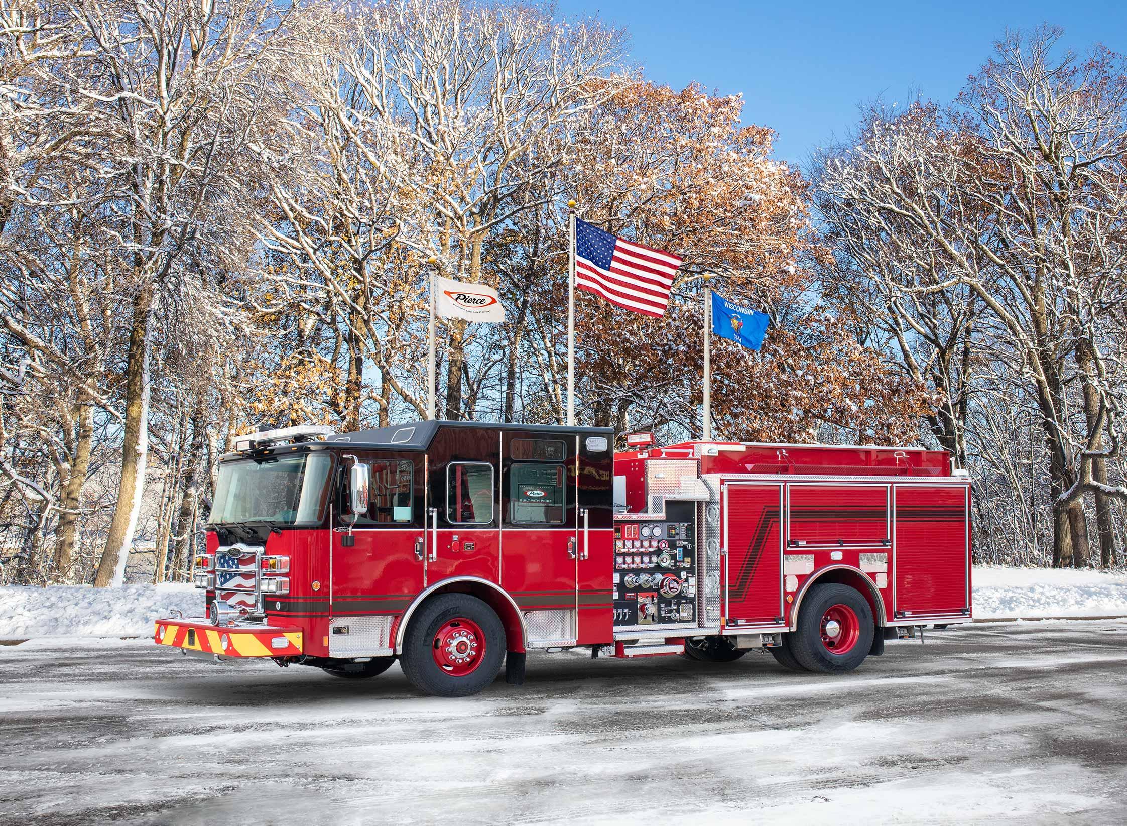 Attleboro Fire Department - Pumper