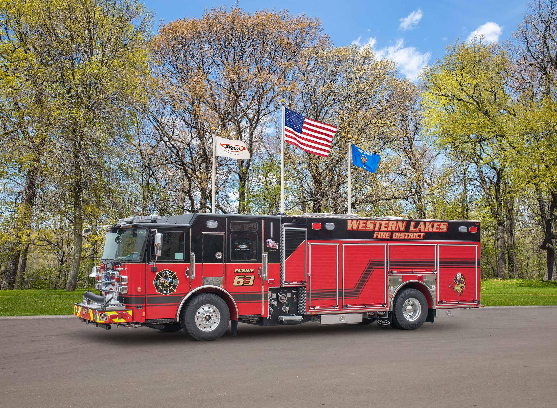 Western Lakes Fire District - Pumper