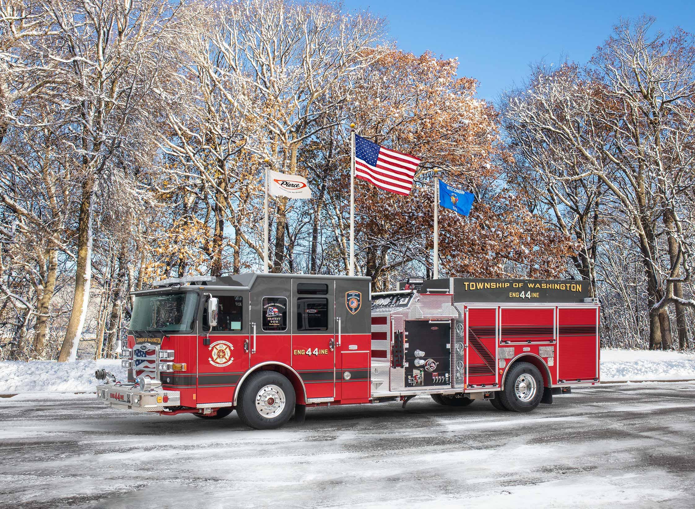 Township of Washington Fire Department - Pumper