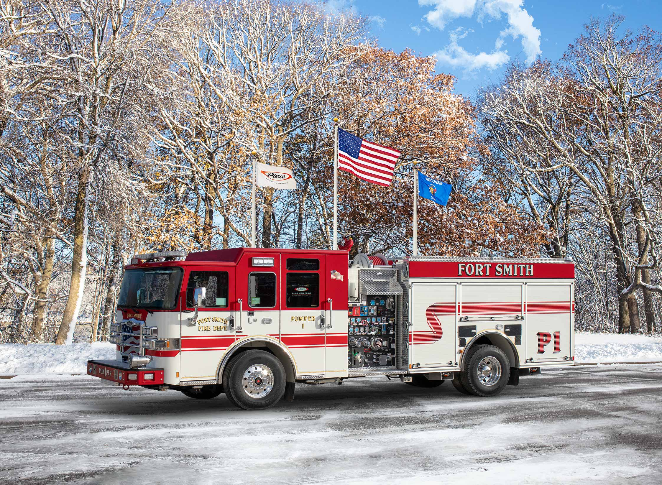 Fort Smith Fire Department - Pumper