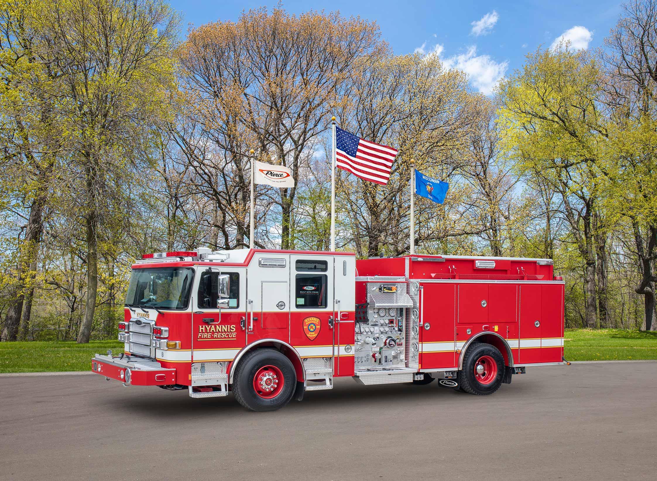 Hyannis Fire Department - Pumper