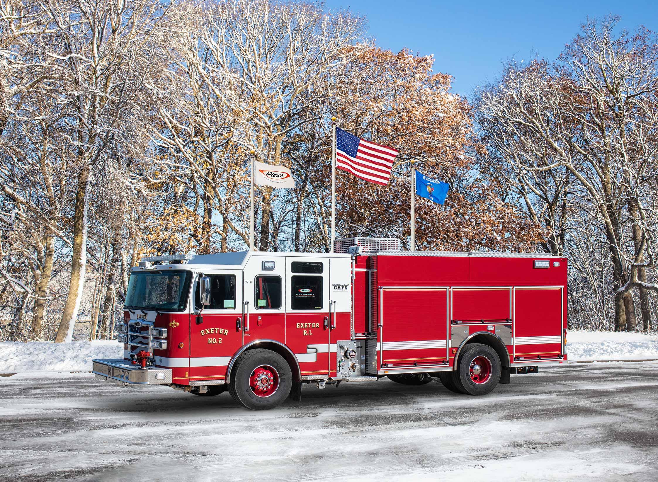Exeter Fire Department No.2 - Pumper
