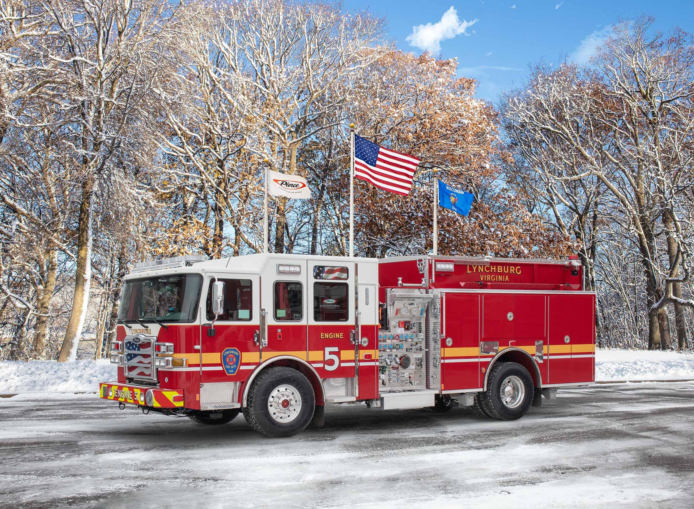 Lynchburg Fire Department - Pumper