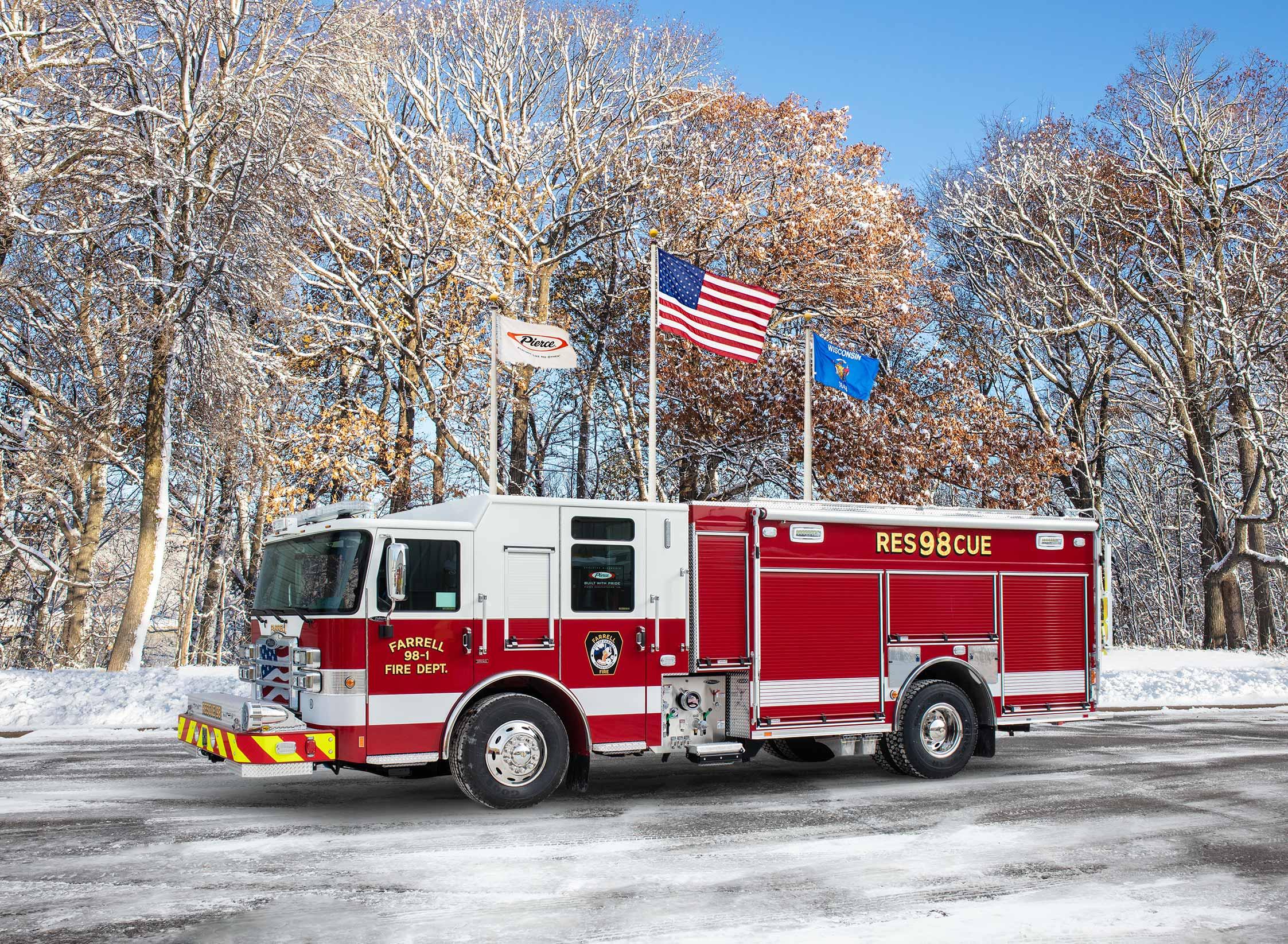 Farrell Fire Department - Pumper