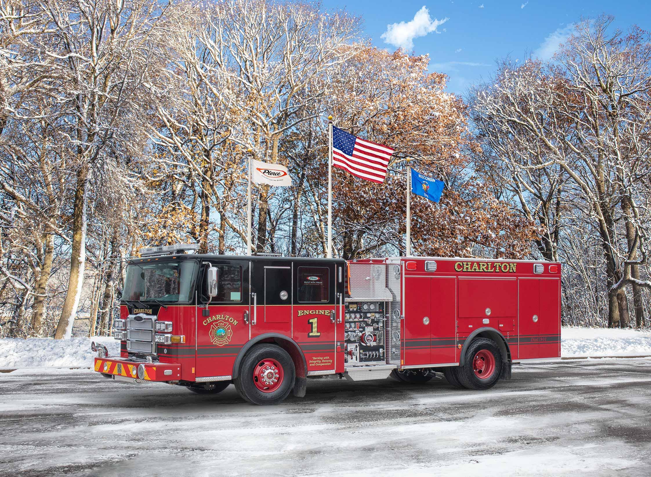 Charlton Fire Department - Pumper