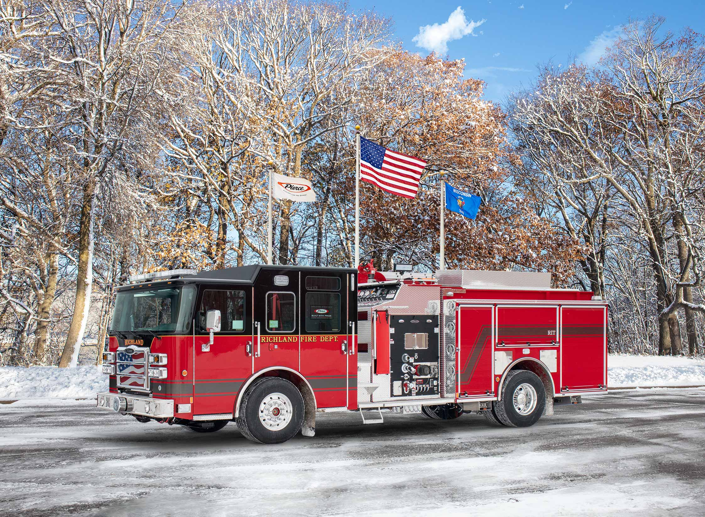 Richland Fire and Emergency Services - Pumper
