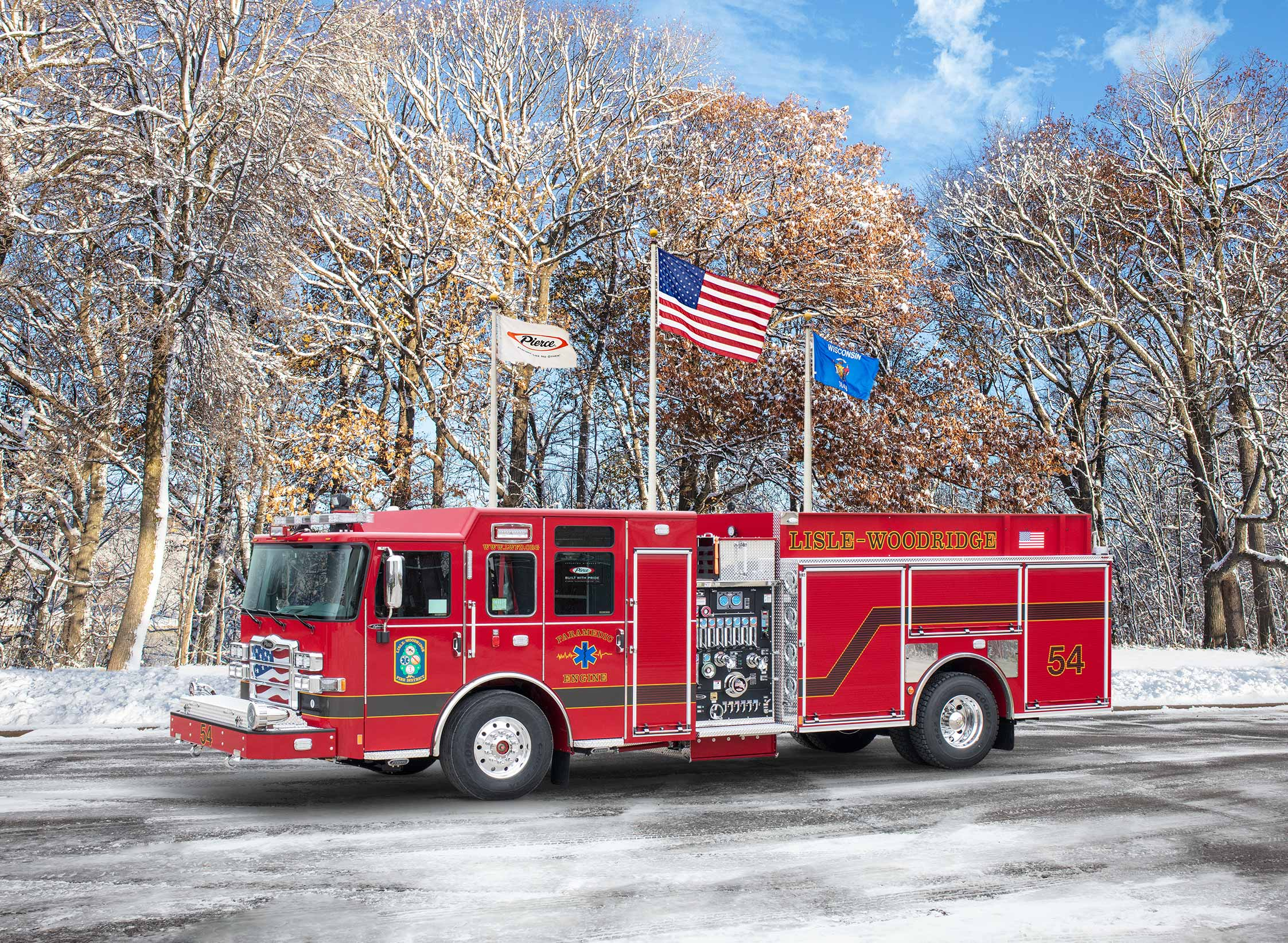 Lisle-Woodridge Fire District - Pumper