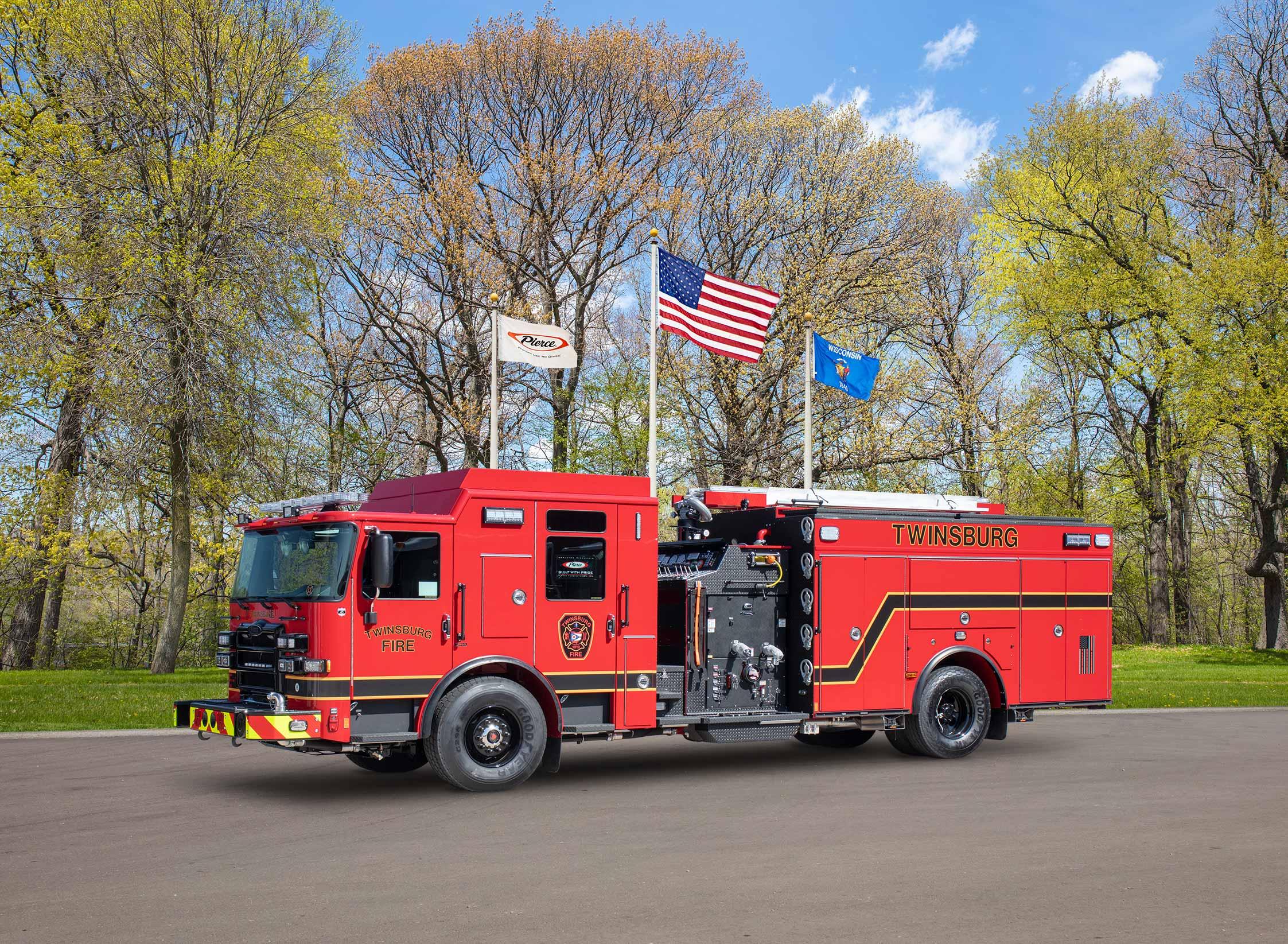 Twinsburg Fire Department - Pumper