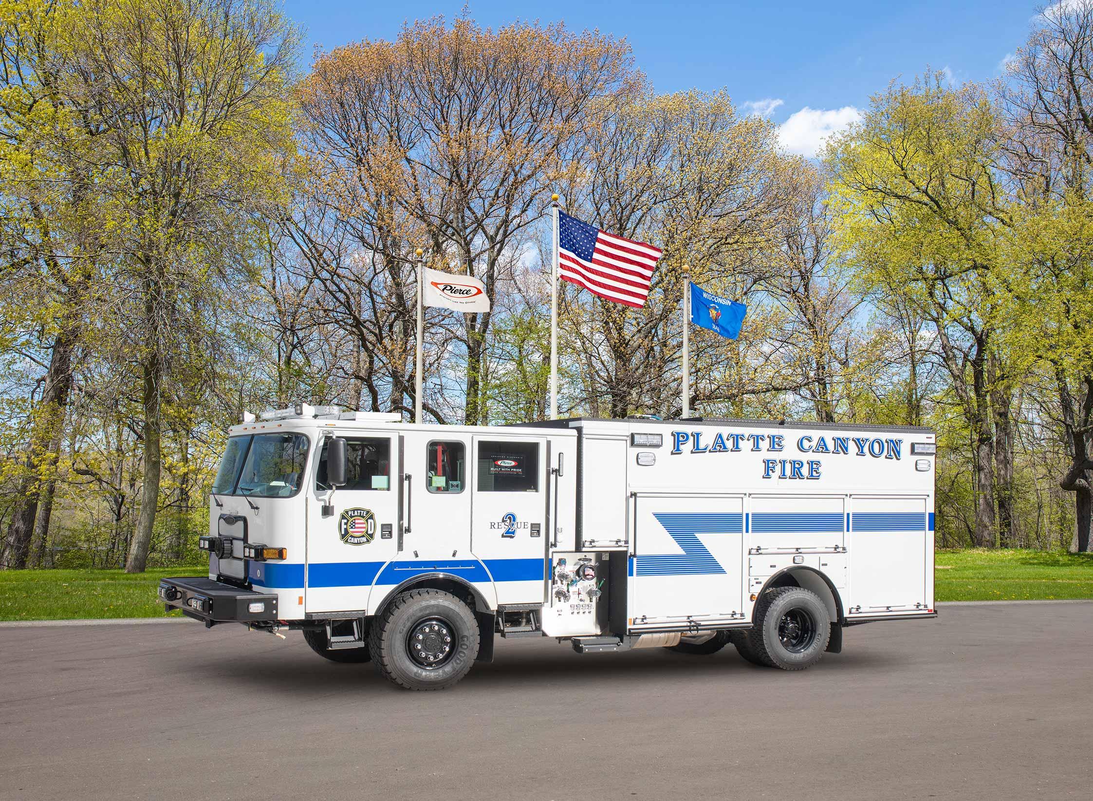 Platte Canyon Fire Protection District - Pumper
