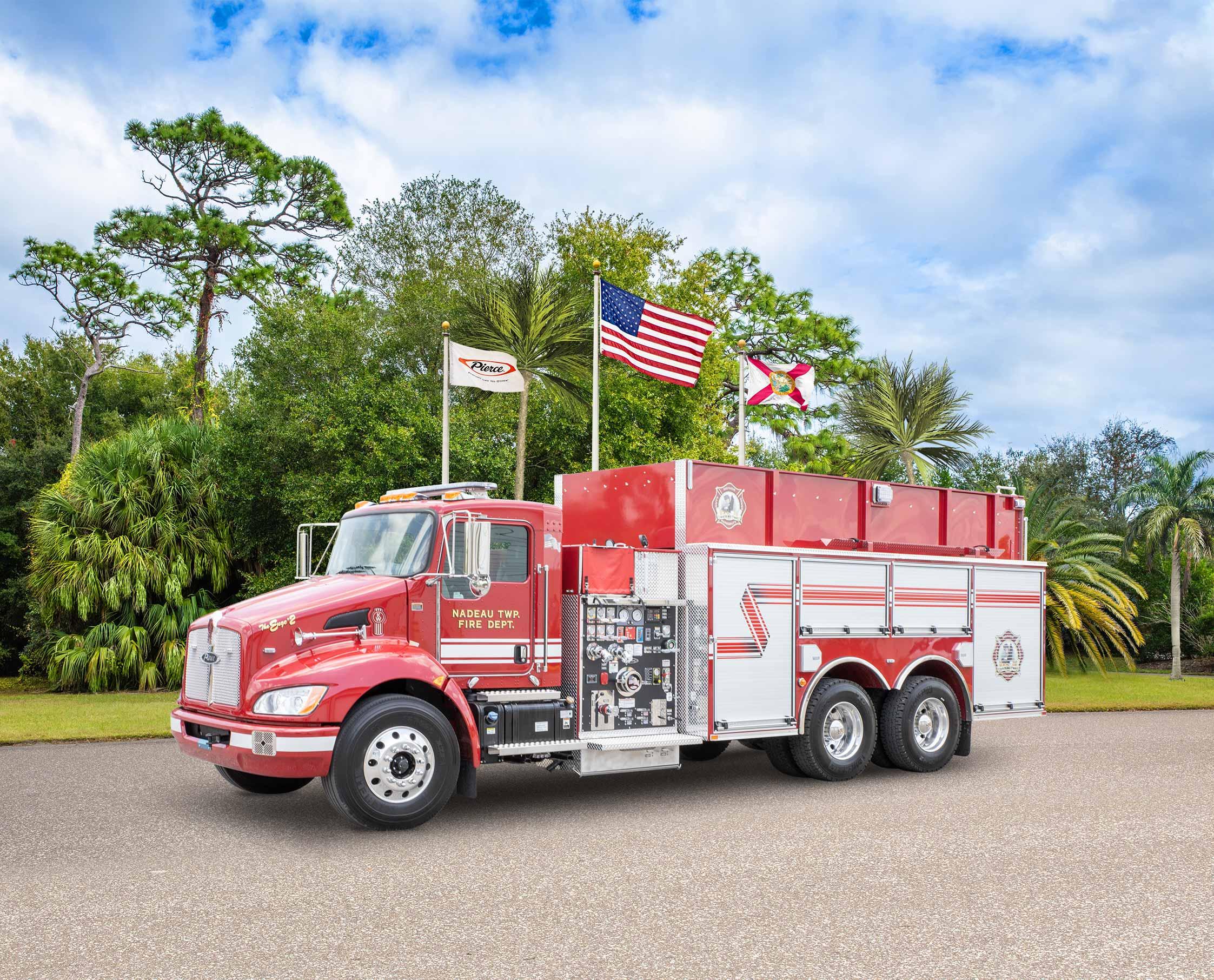 Nadeau Fire Department - Tanker