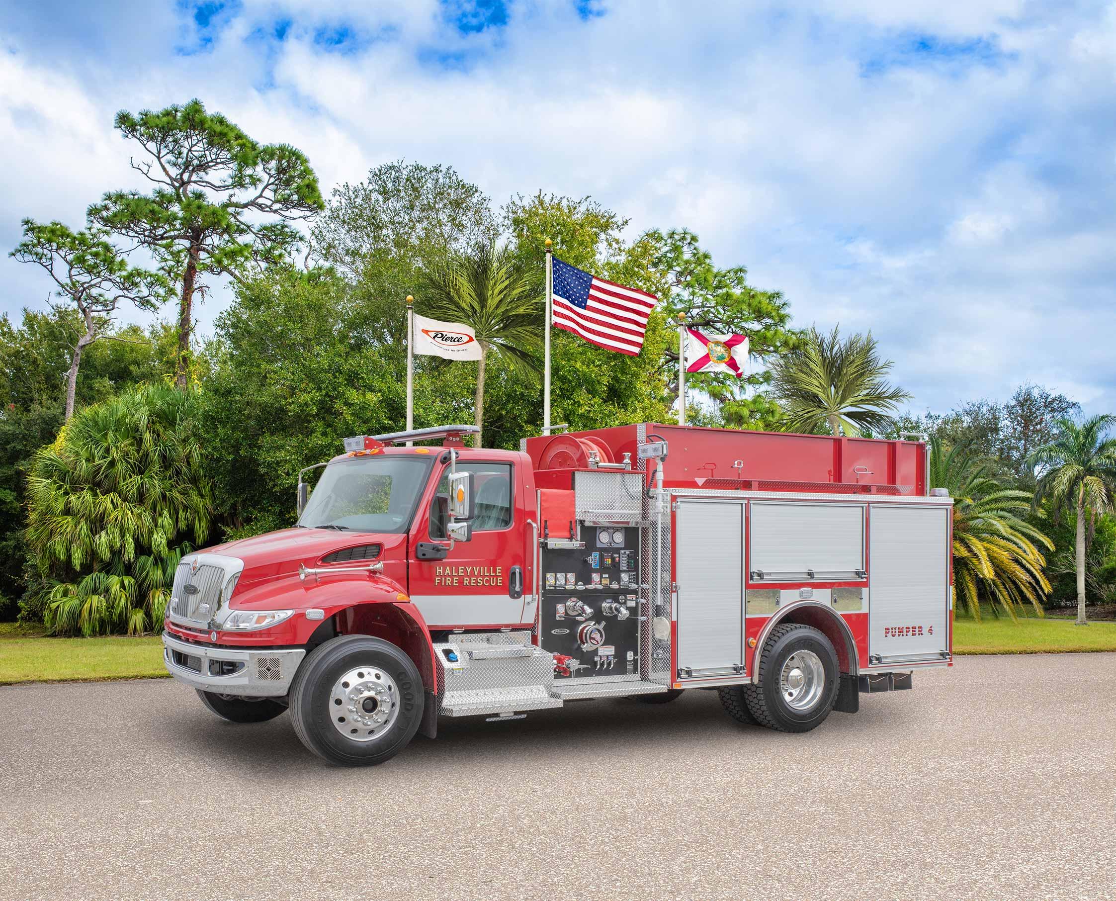 Haleyville Fire Department - Pumper