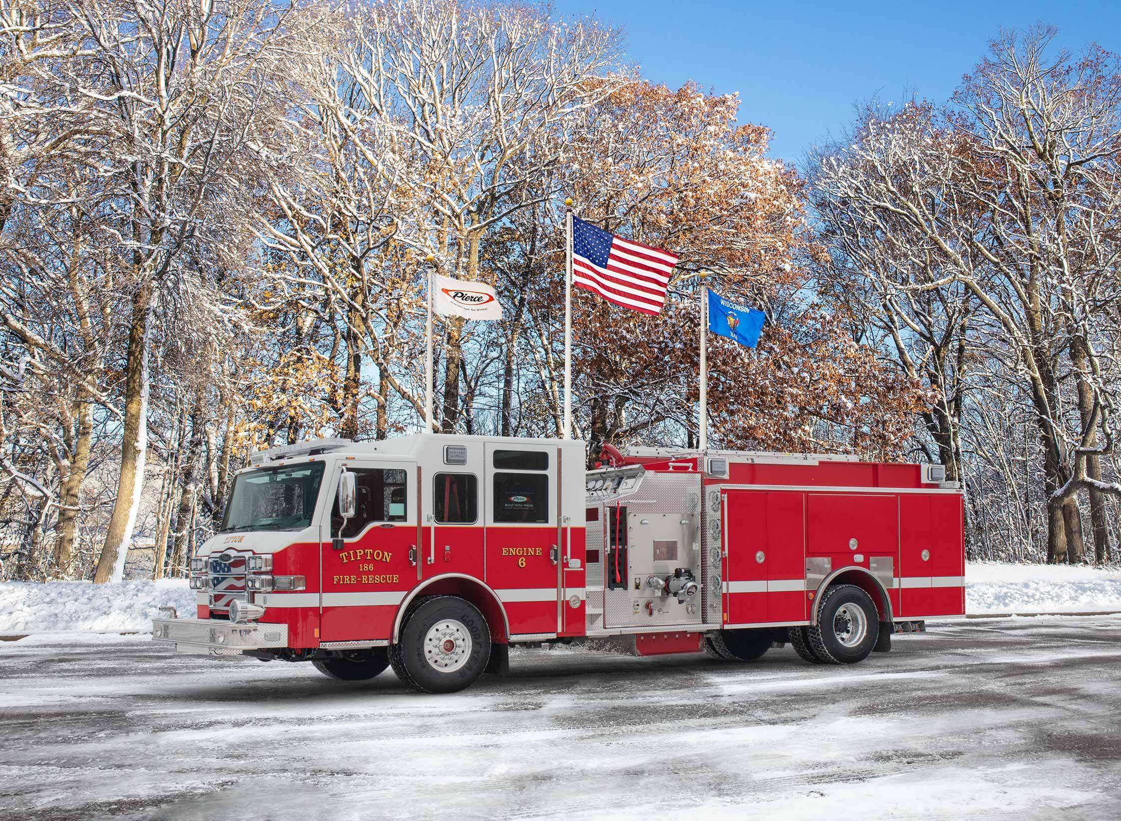 Tipton Fire Department - Pumper
