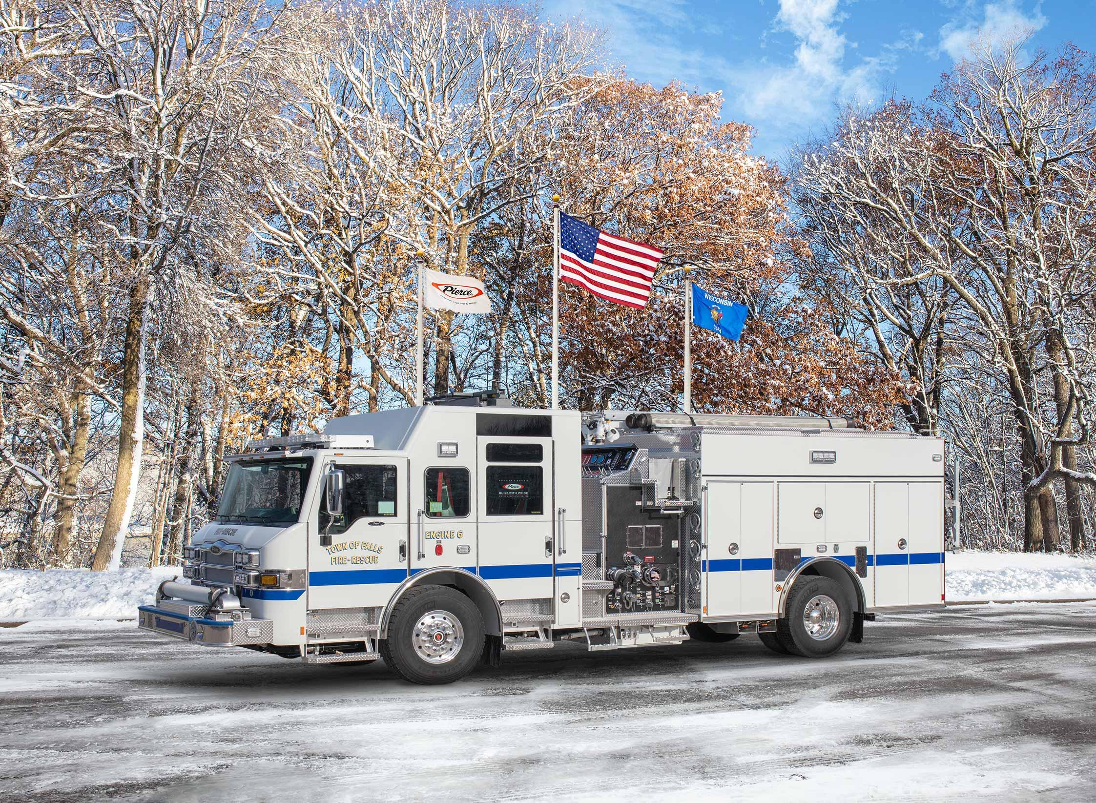 Town of Sheboygan Falls Fire & Rescue - Pumper