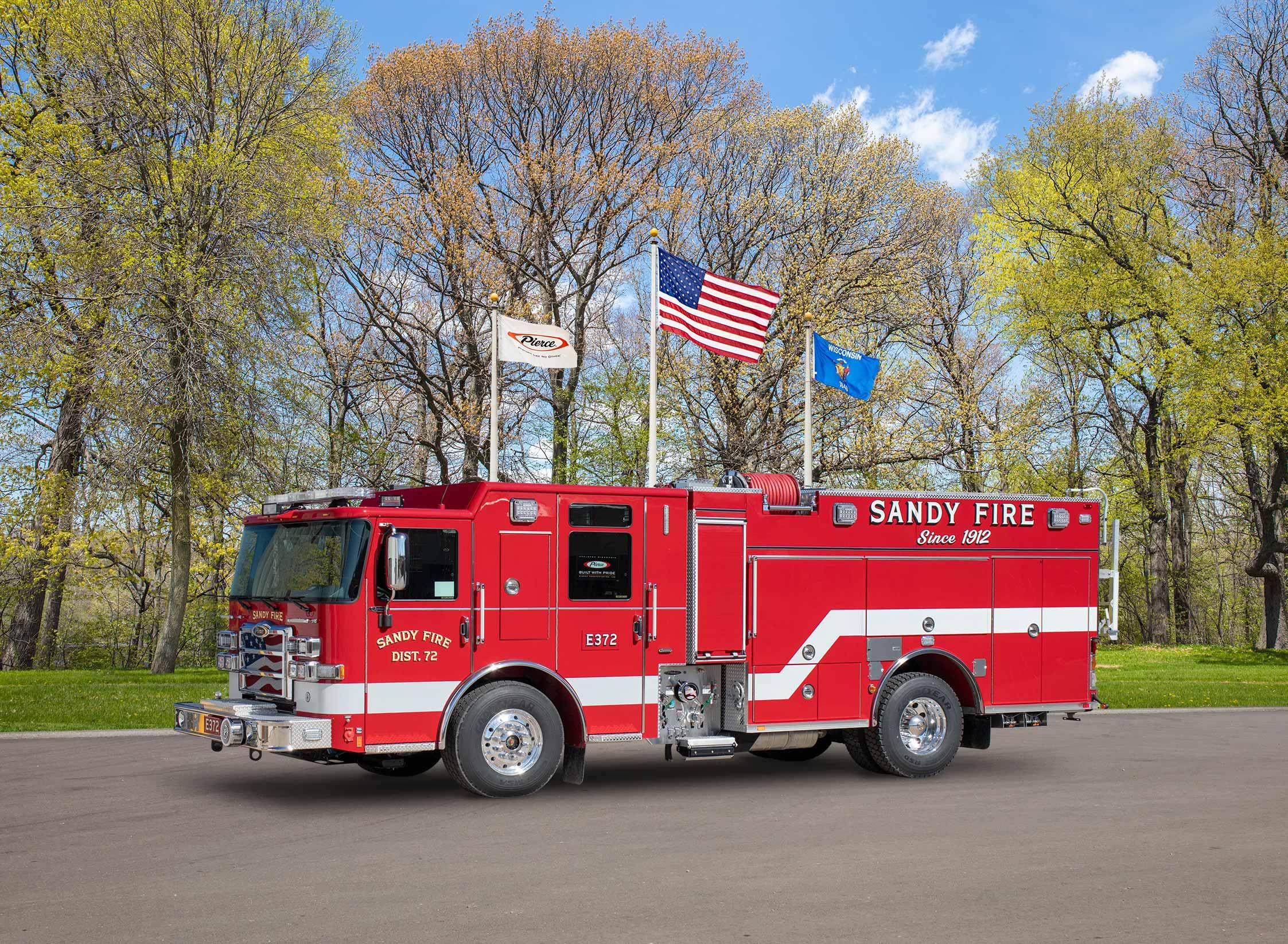 Sandy Fire District No.72 - Pumper