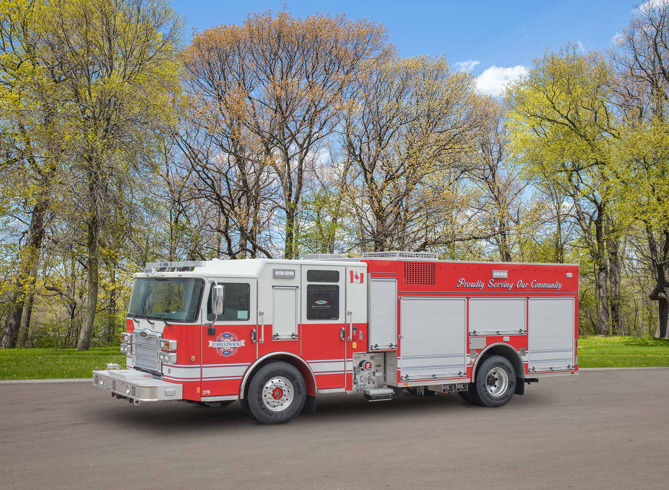 Chilliwack Fire Department - Pumper