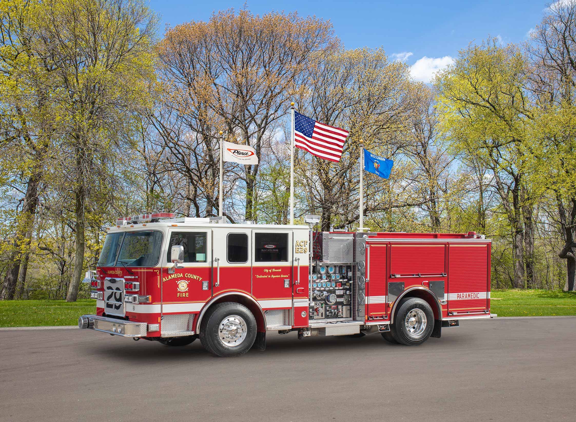 Newark Fire Department - Pumper